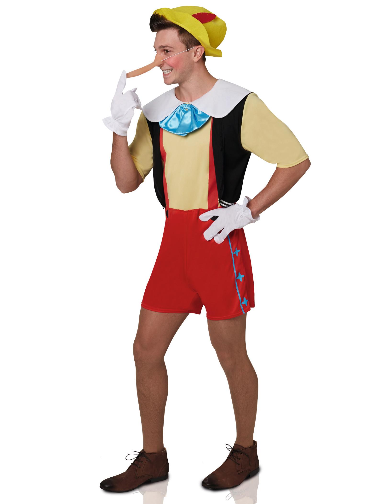 cbac29a2bc6d Costume Pinocchio™ adulto: Costumi adulti,e vestiti di carnevale ...