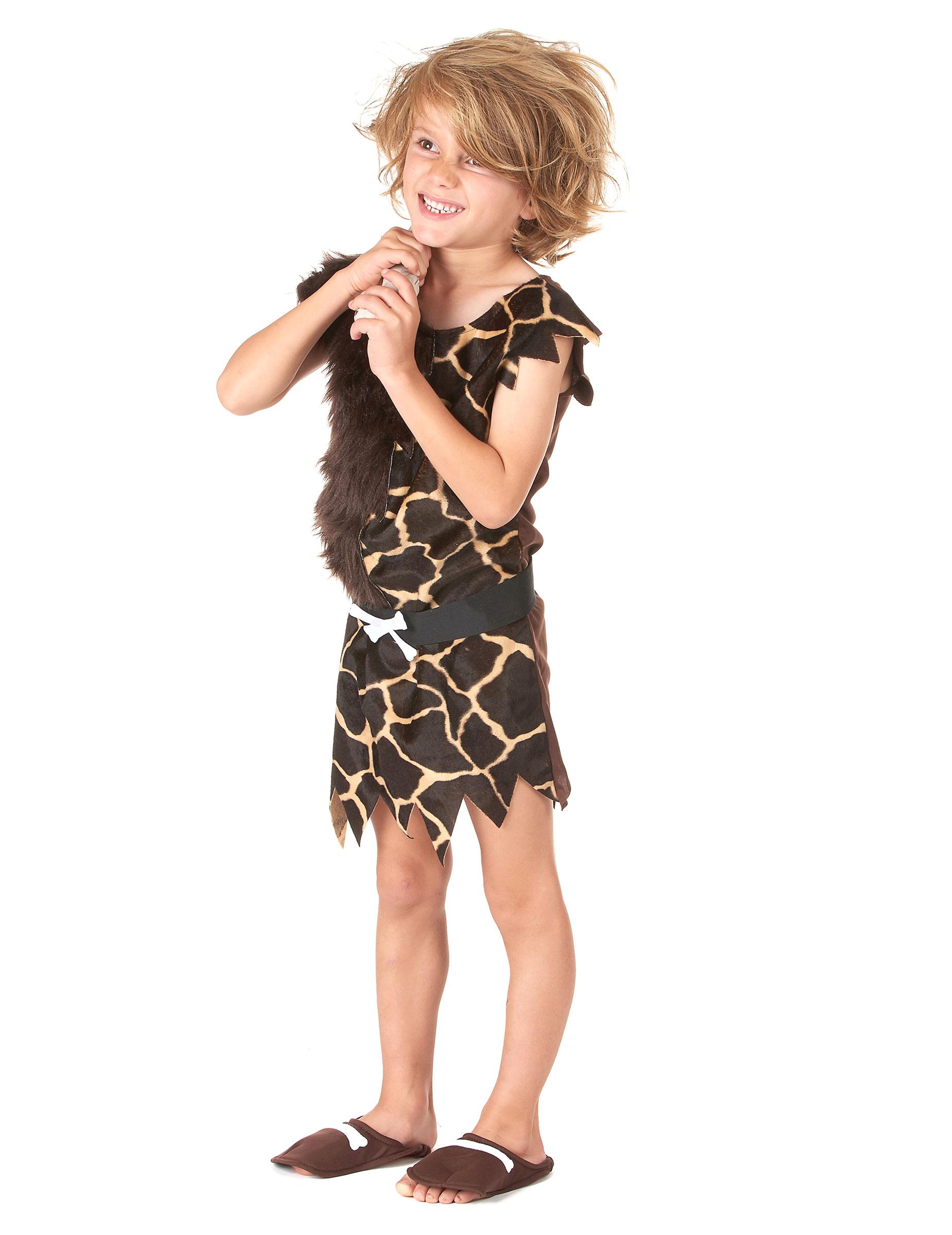 251c288dc62a2 Costume da cavernicolo per bambino  Costumi bambini