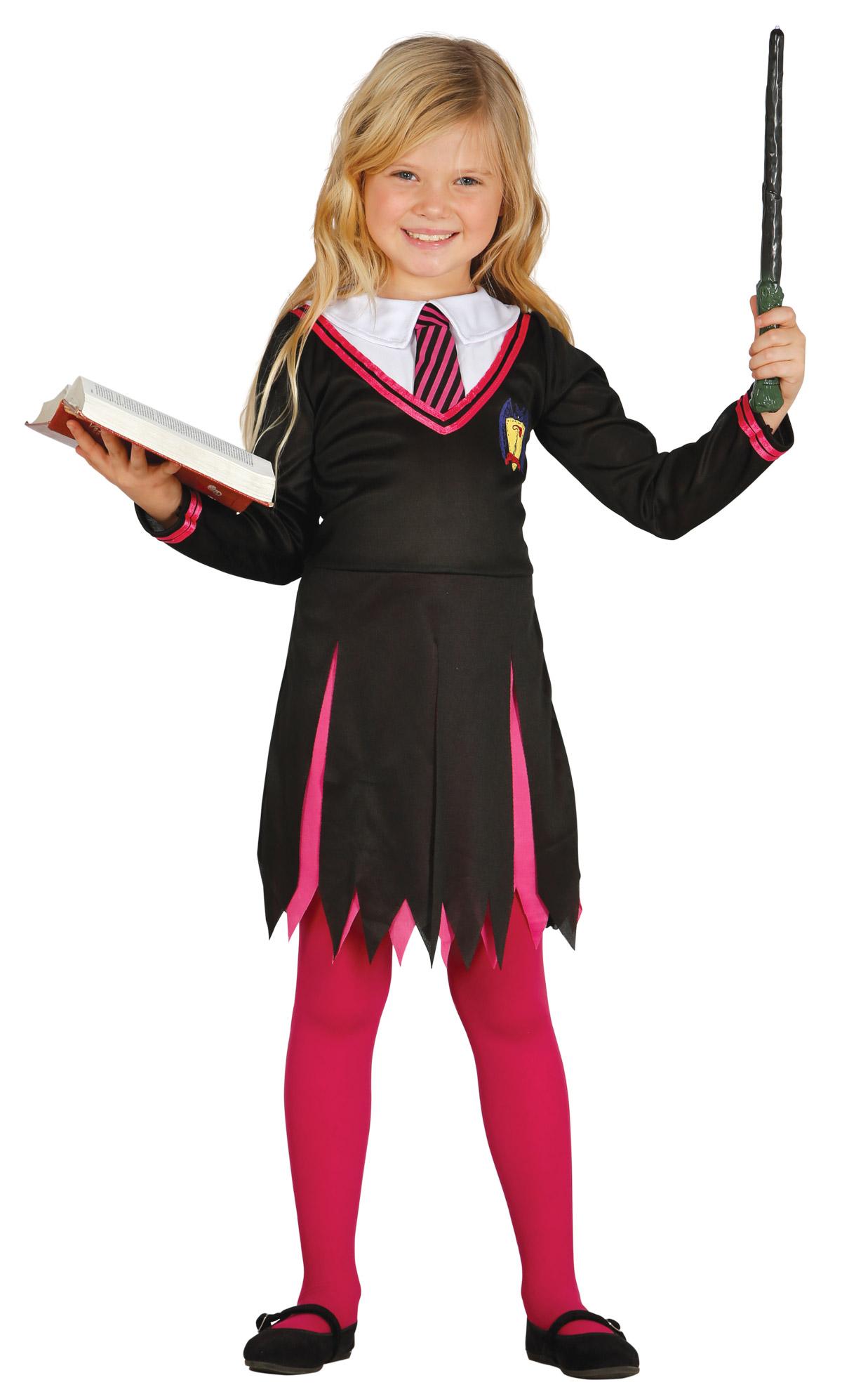 Costume da maga studente per bambina  Costumi bambini b45789239b60
