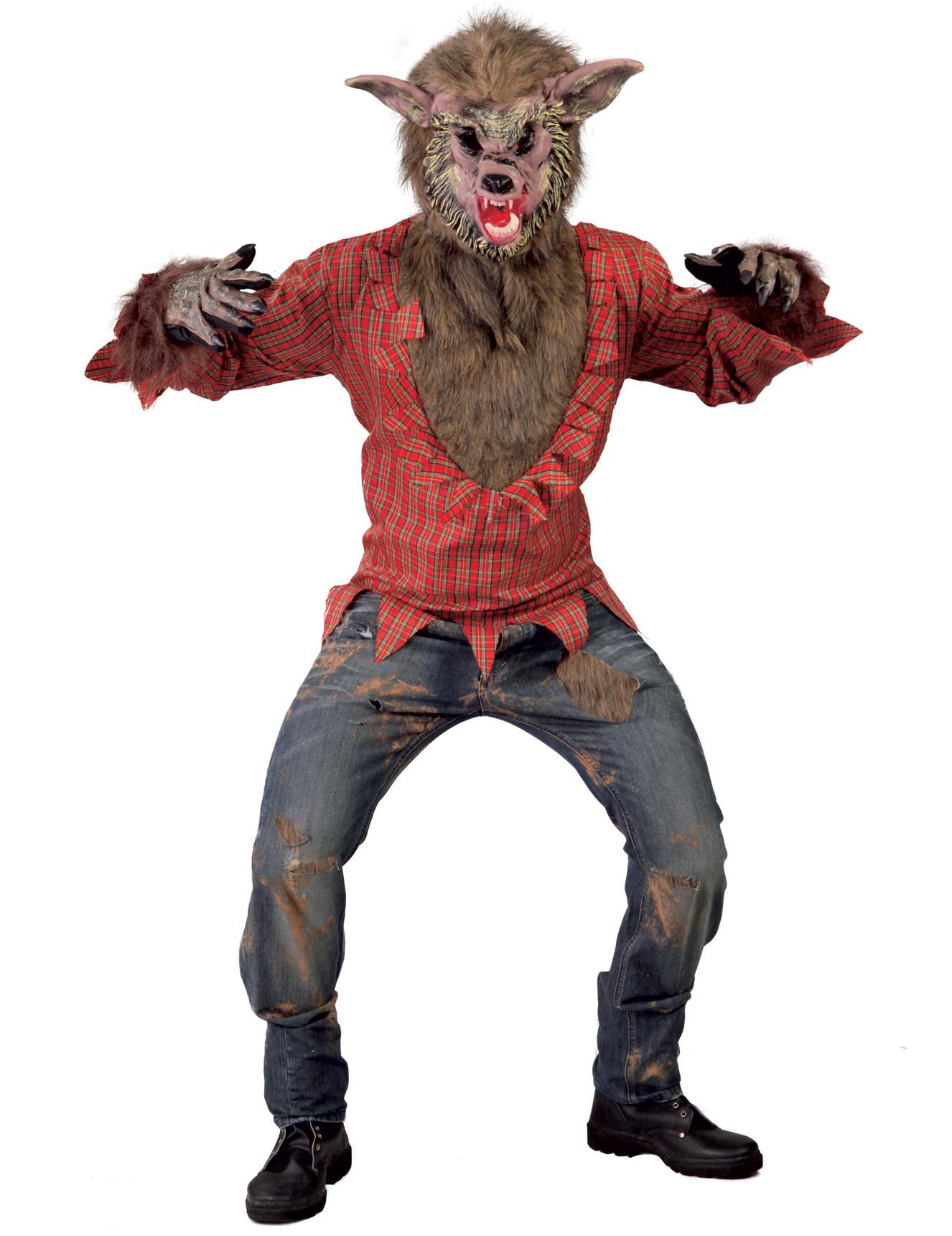 Costume lupo cattivo adulto costumi adulti e vestiti di - Lupo mannaro immagini da colorare ...
