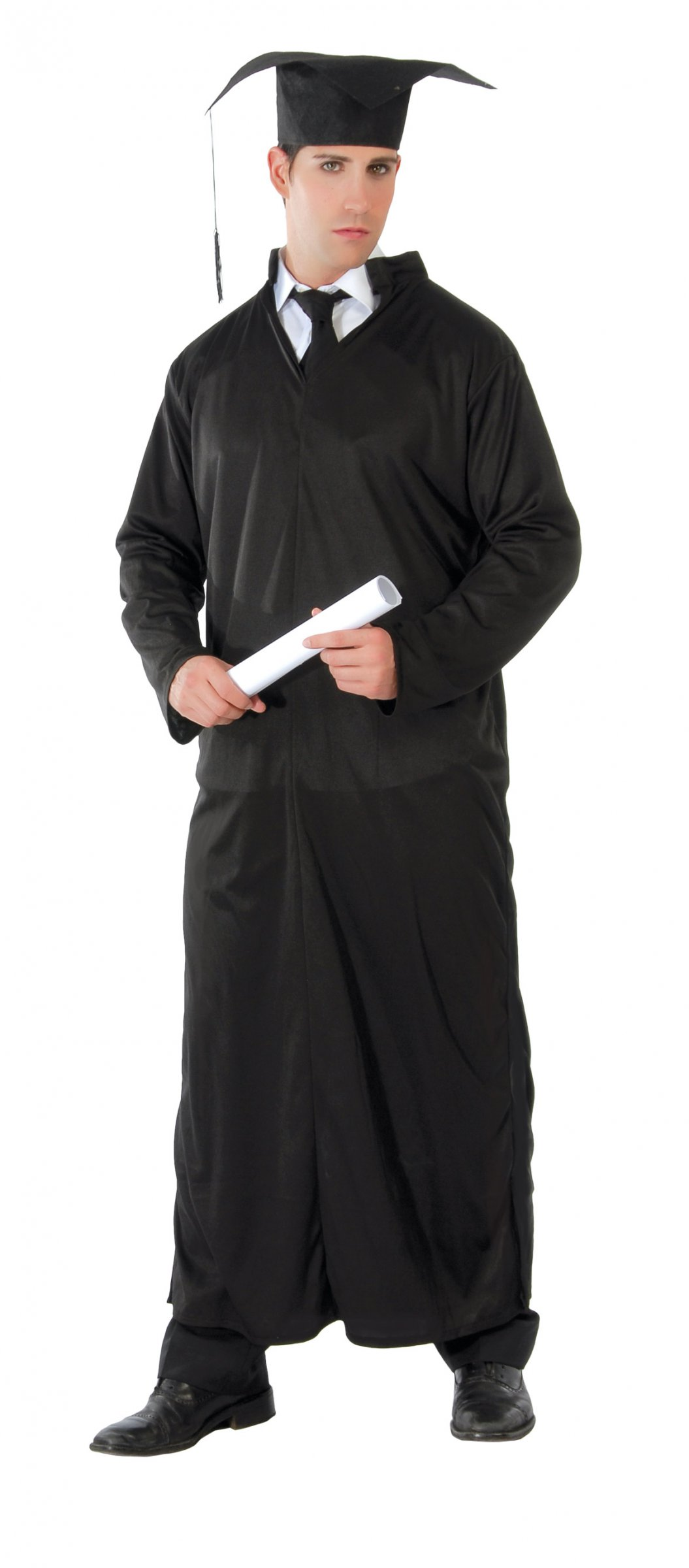 san francisco 23b19 22d9b Costume tunica nera 3 in 1 adulto: Costumi adulti,e vestiti ...