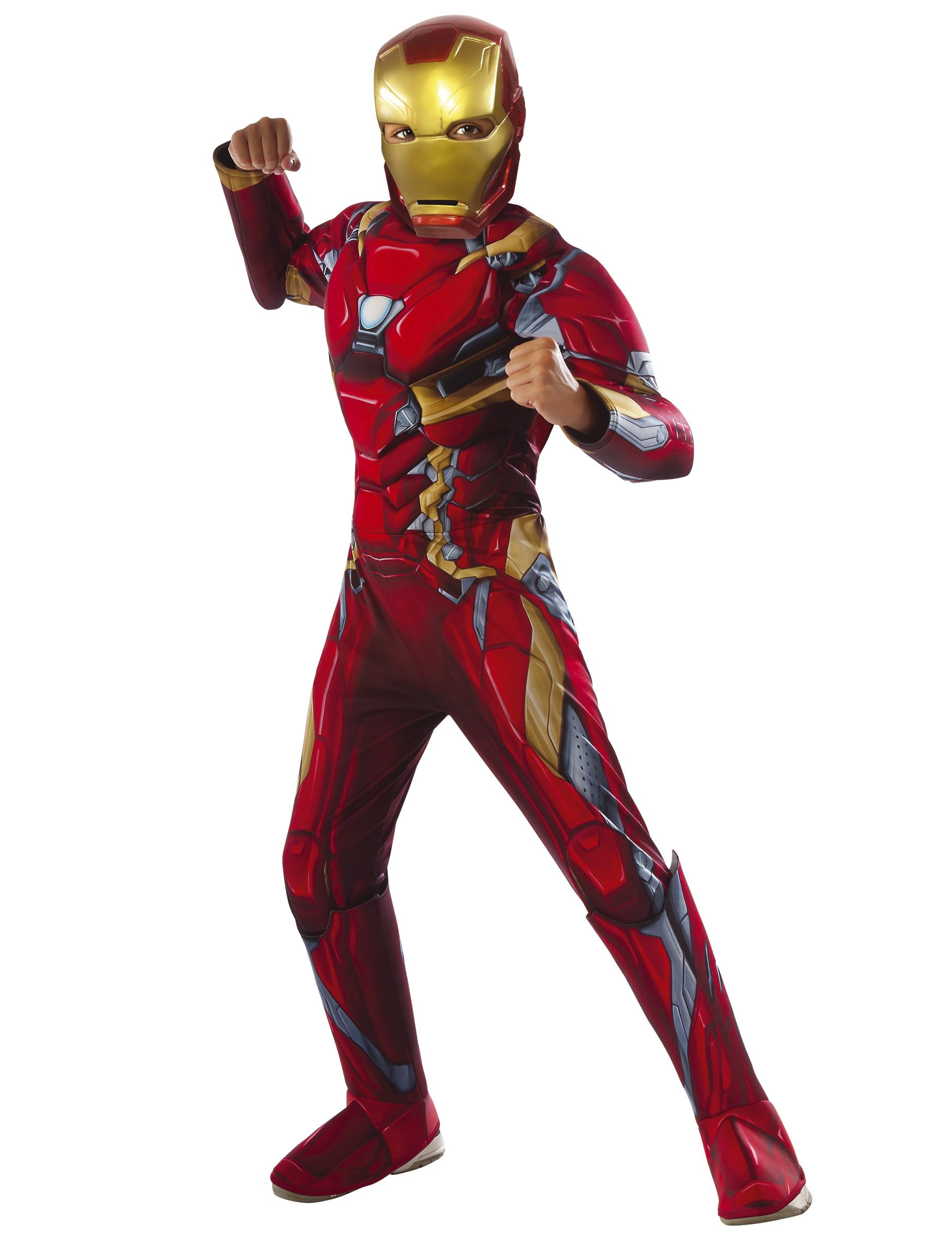 autentico all'ingrosso online ineguagliabile nelle prestazioni Costume lusso Iron Man™ Civil War bambino - Avengers™