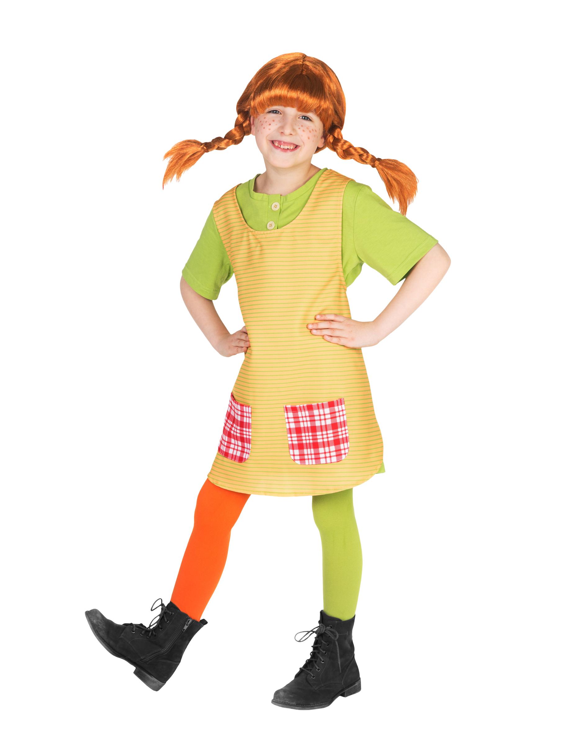 Costume pippi calzelunghe™ bambina: costumi bambini e vestiti di