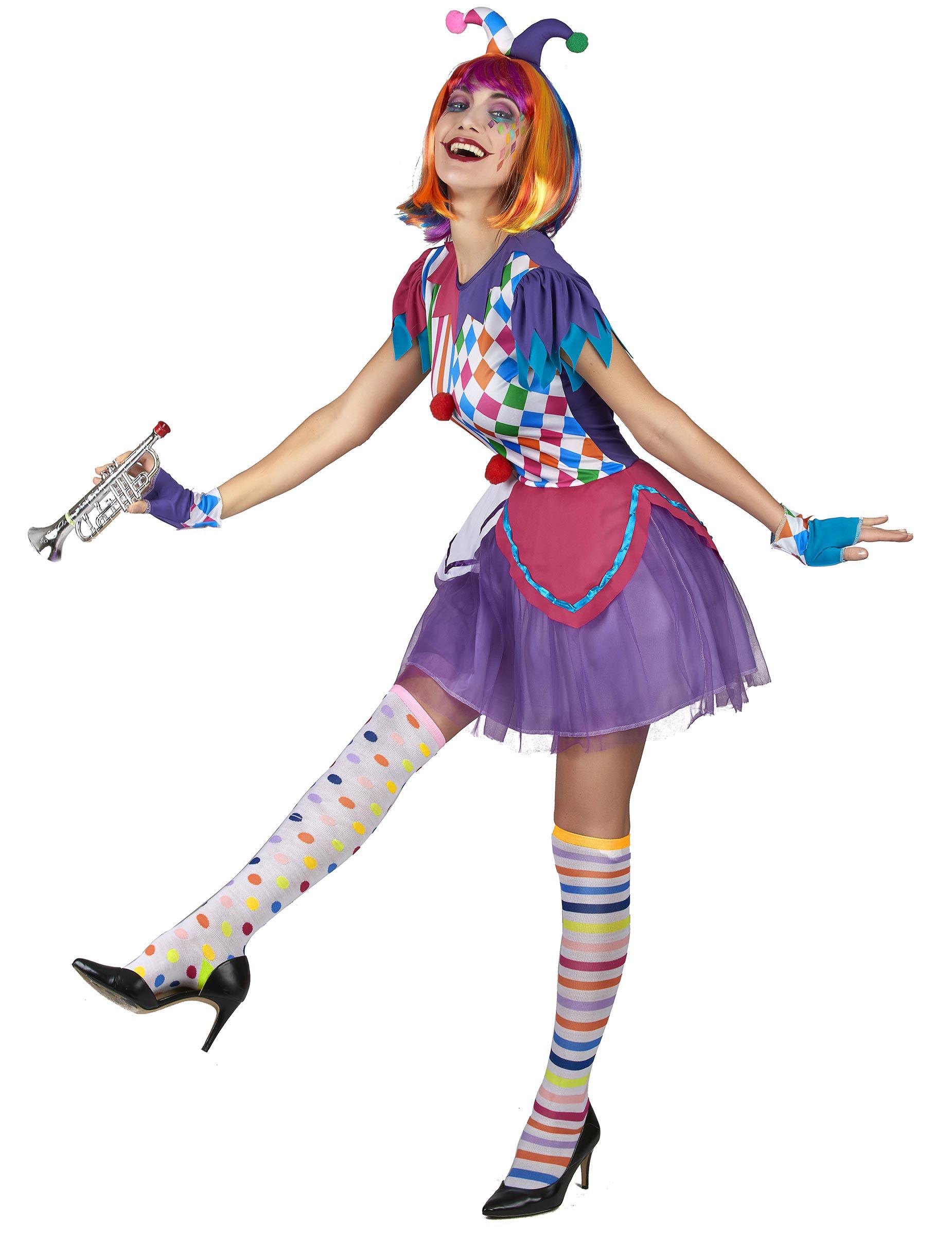 Abito Gonna Lunga Donna Arlecchino Carnevale N8XZOwPn0k