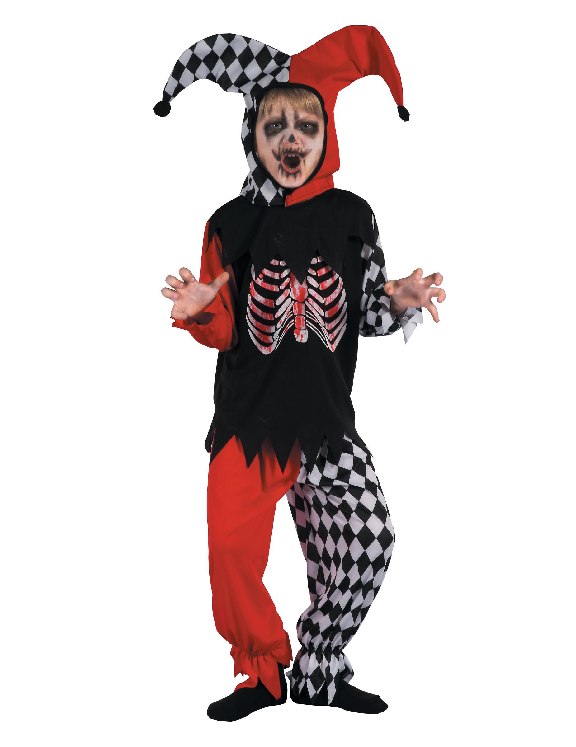 Costume da Arlecchino sanguinario per bambino - Vegaoo.it d980df00a4ce