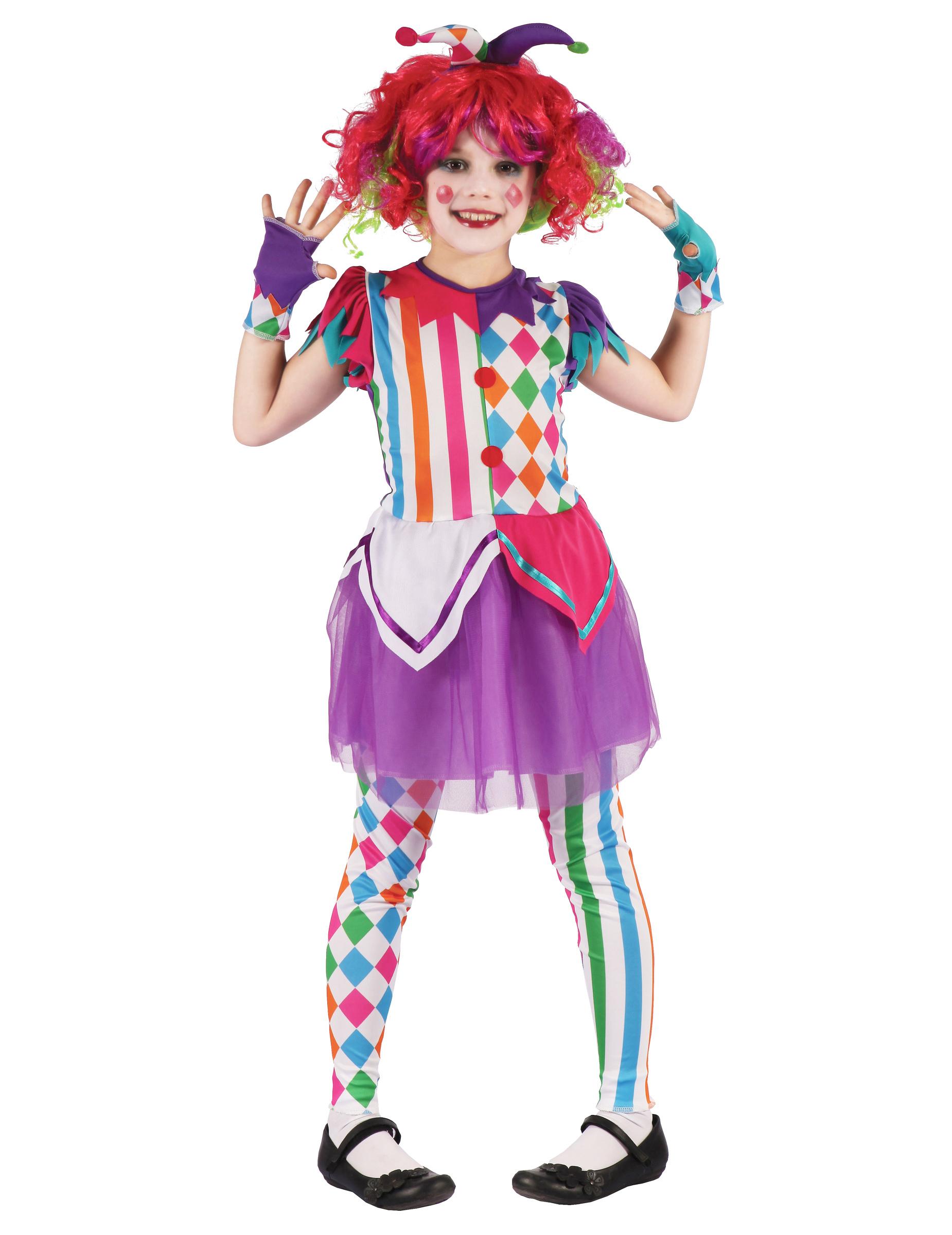 Bambini Per Costumi Arlecchino Da Costume Multicolore Bambina e OStY7Aqwx