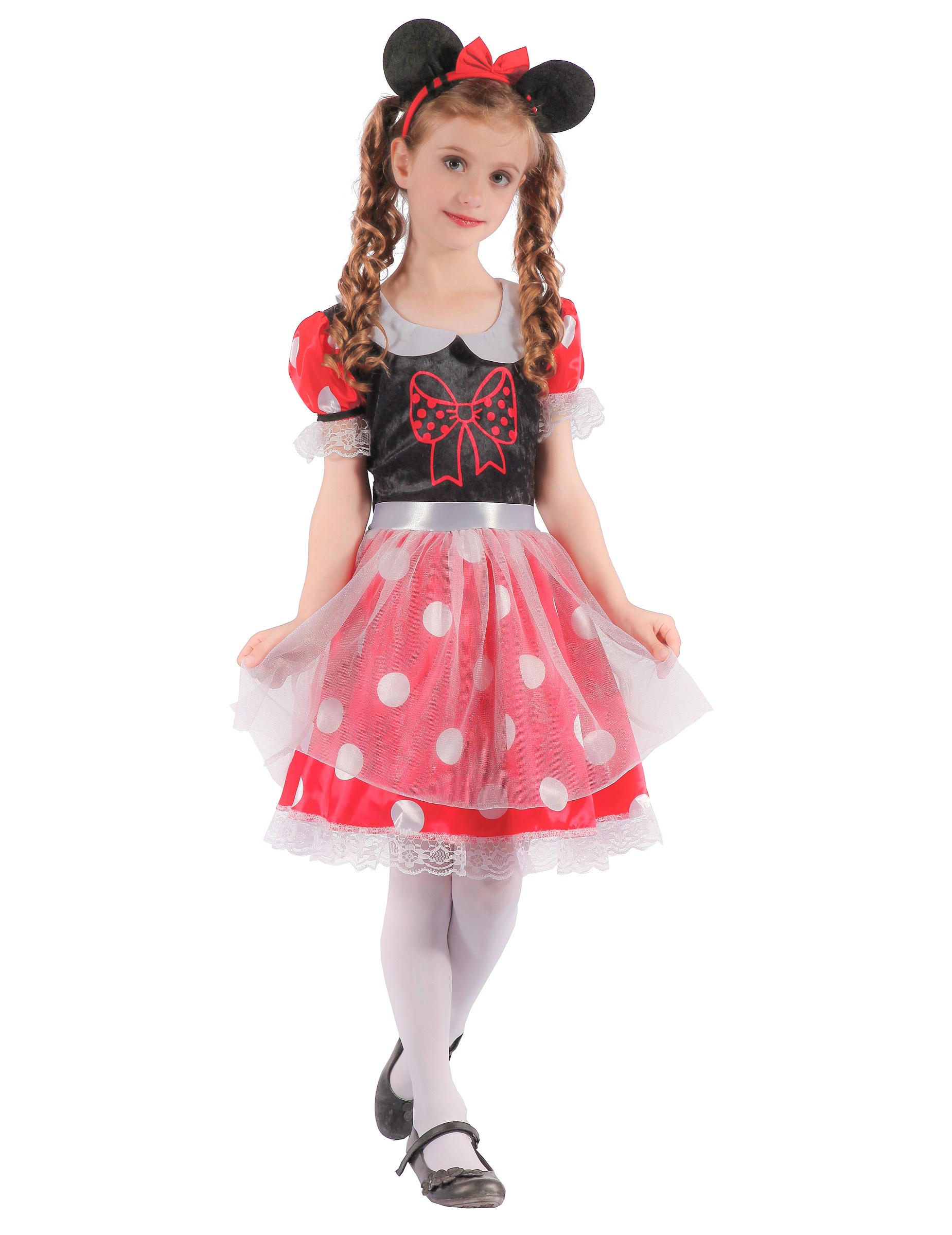 028e71fcfd2b Costume topolina a pois per bambina: Costumi bambini,e vestiti di ...