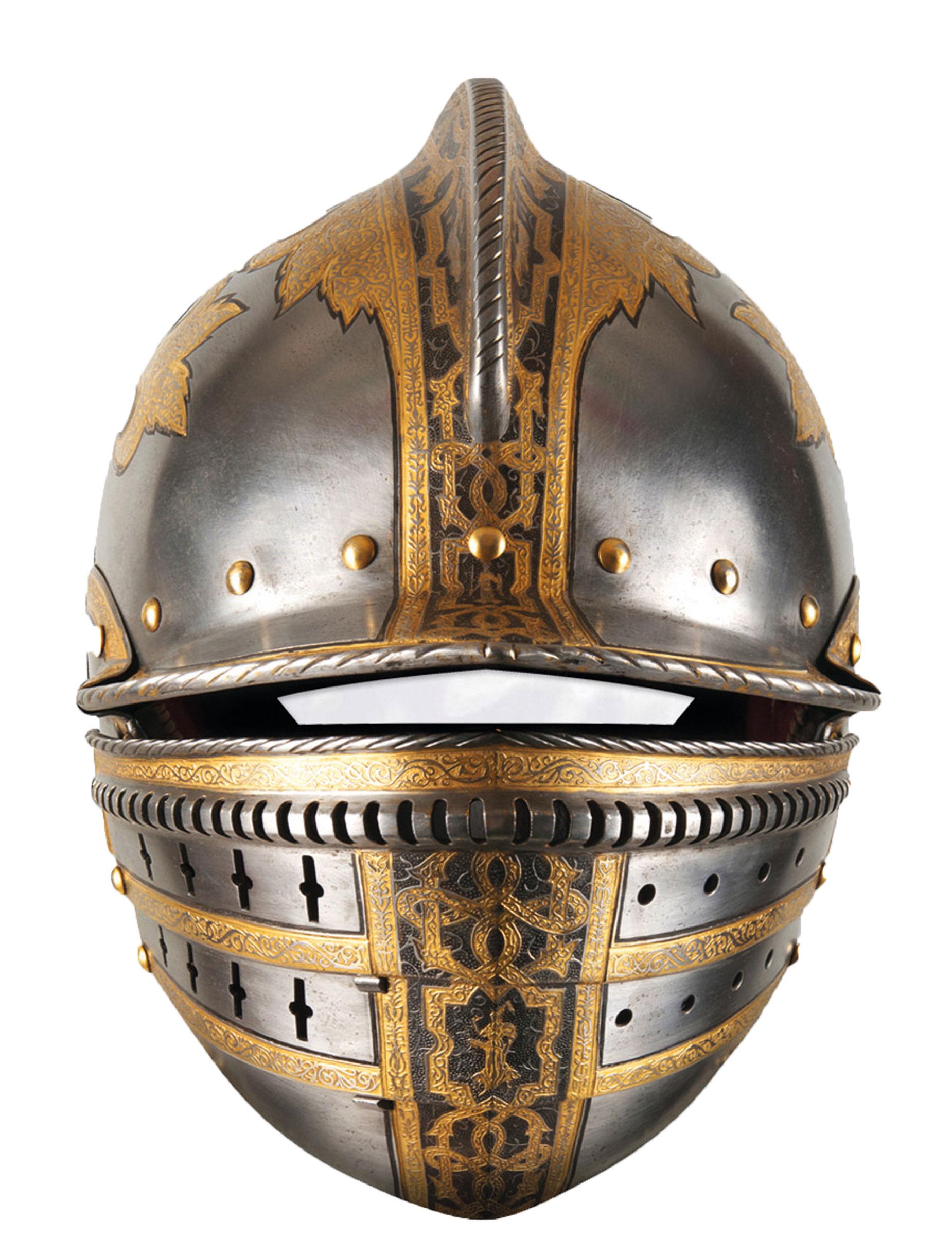 Maschera Cartone Casco Medievale Maschere E Vestiti Di