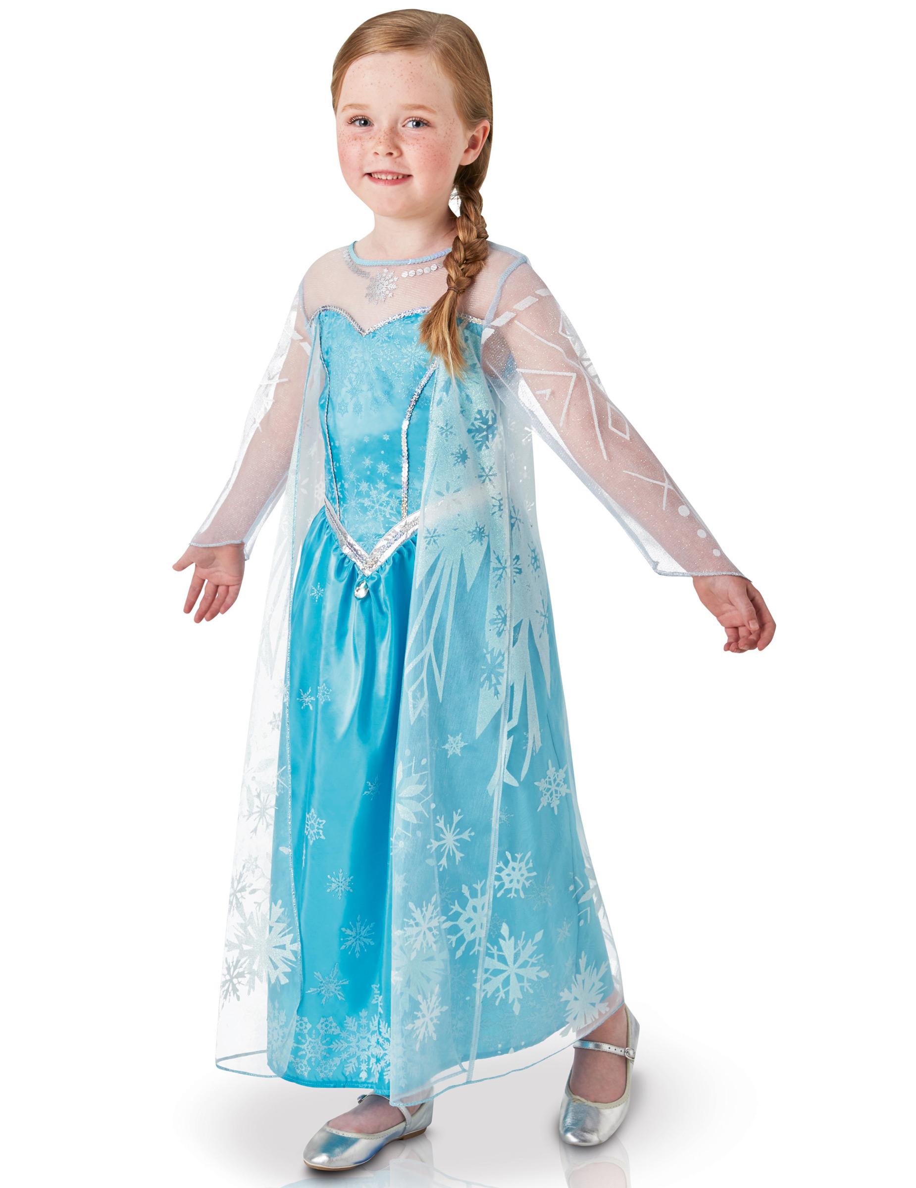 Disney Frozen Ragazze Il regno di ghiaccio 5-6 Anni Abito Frozen