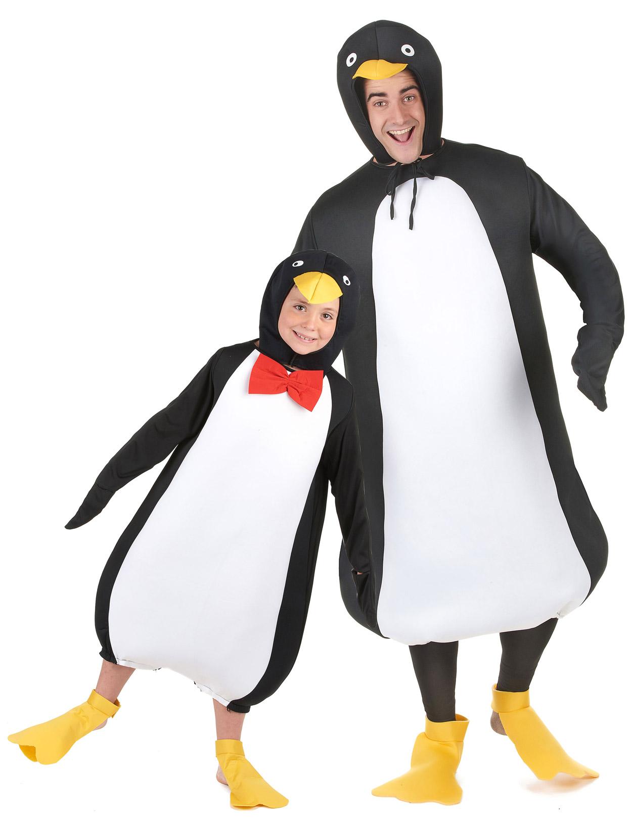 786e73465c83 Costume di coppia da pinguino - padre e figlio: Costumi coppia,e ...