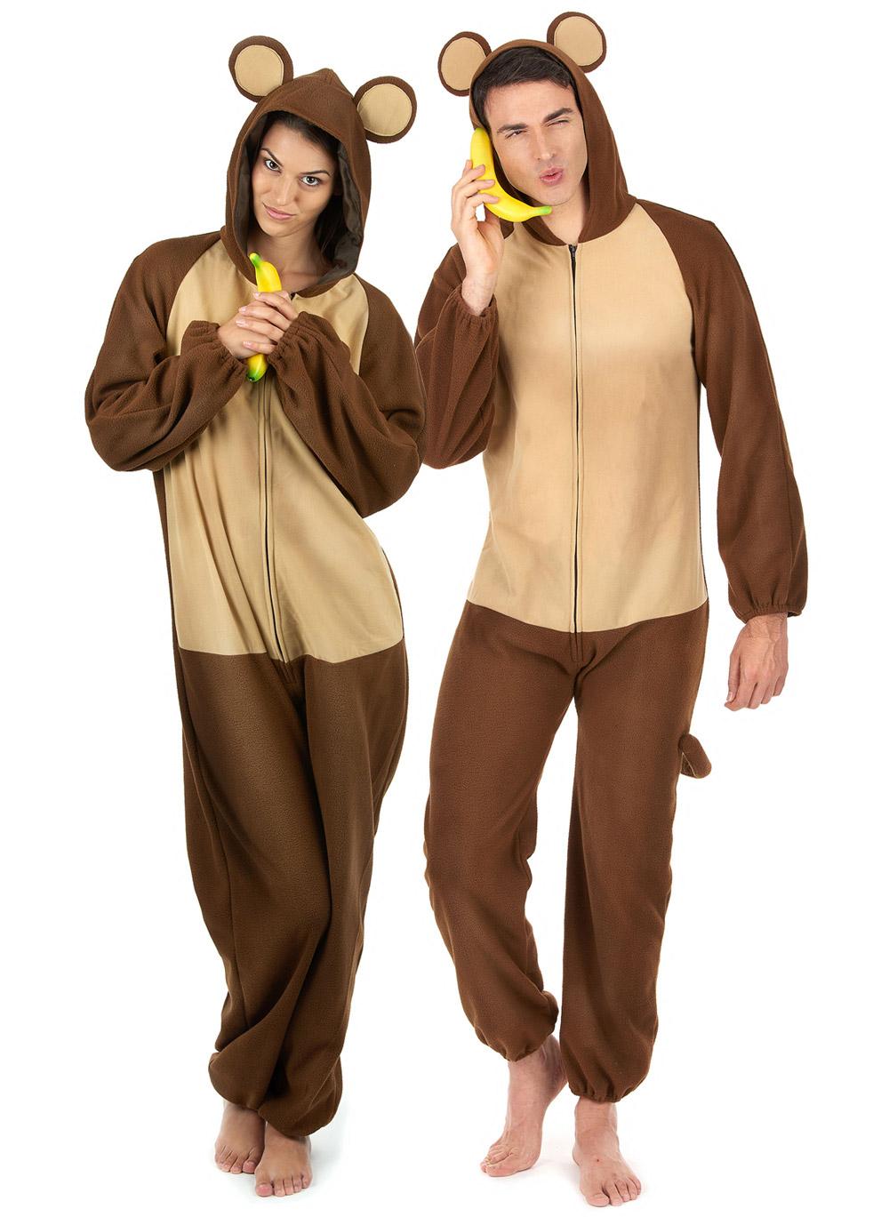 Amato Costume di coppia scimmia: Costumi coppia,e vestiti di carnevale  TV61