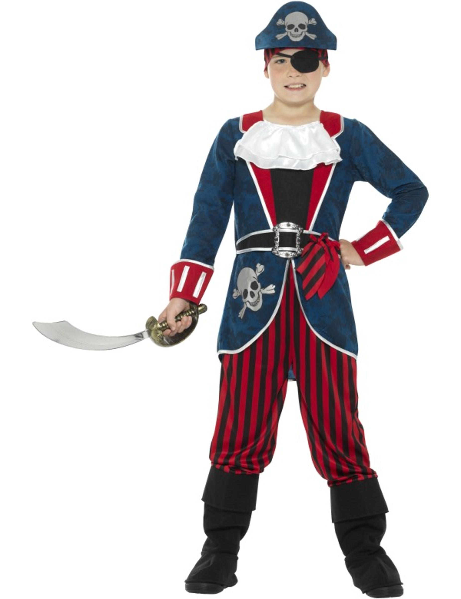Childrens CAPITANO DEI PIRATI LIBRO giorno carattere Treasure Island Costume