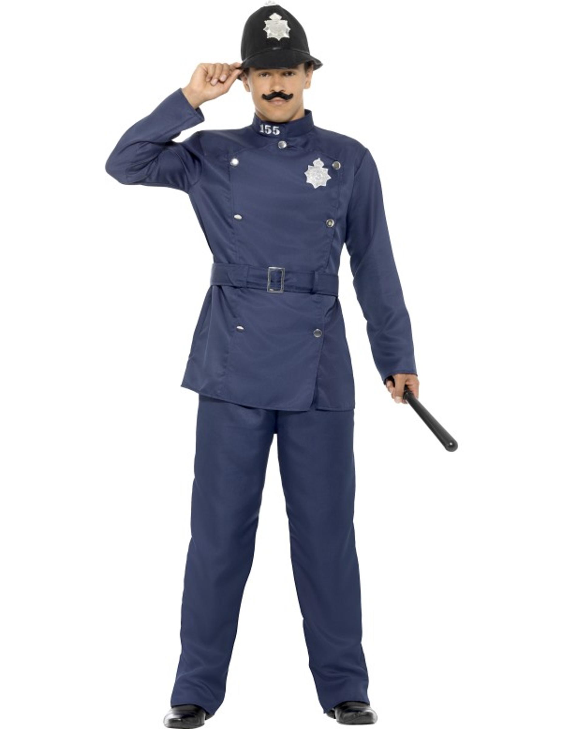 d985cfce2f Costume da poliziotto ingelse per uomo: Costumi adulti,e vestiti di ...