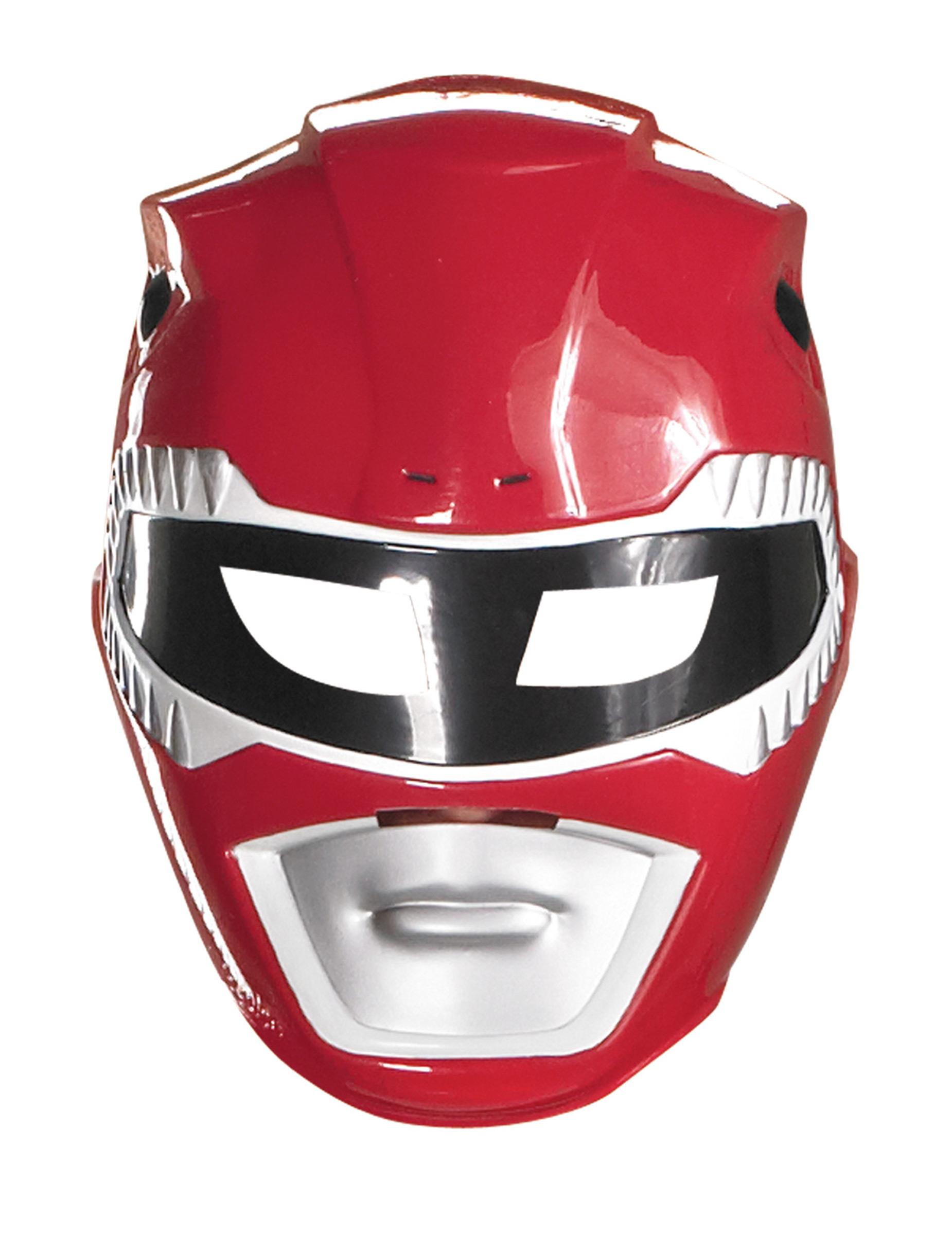 Maschera Power Rangers rossa da