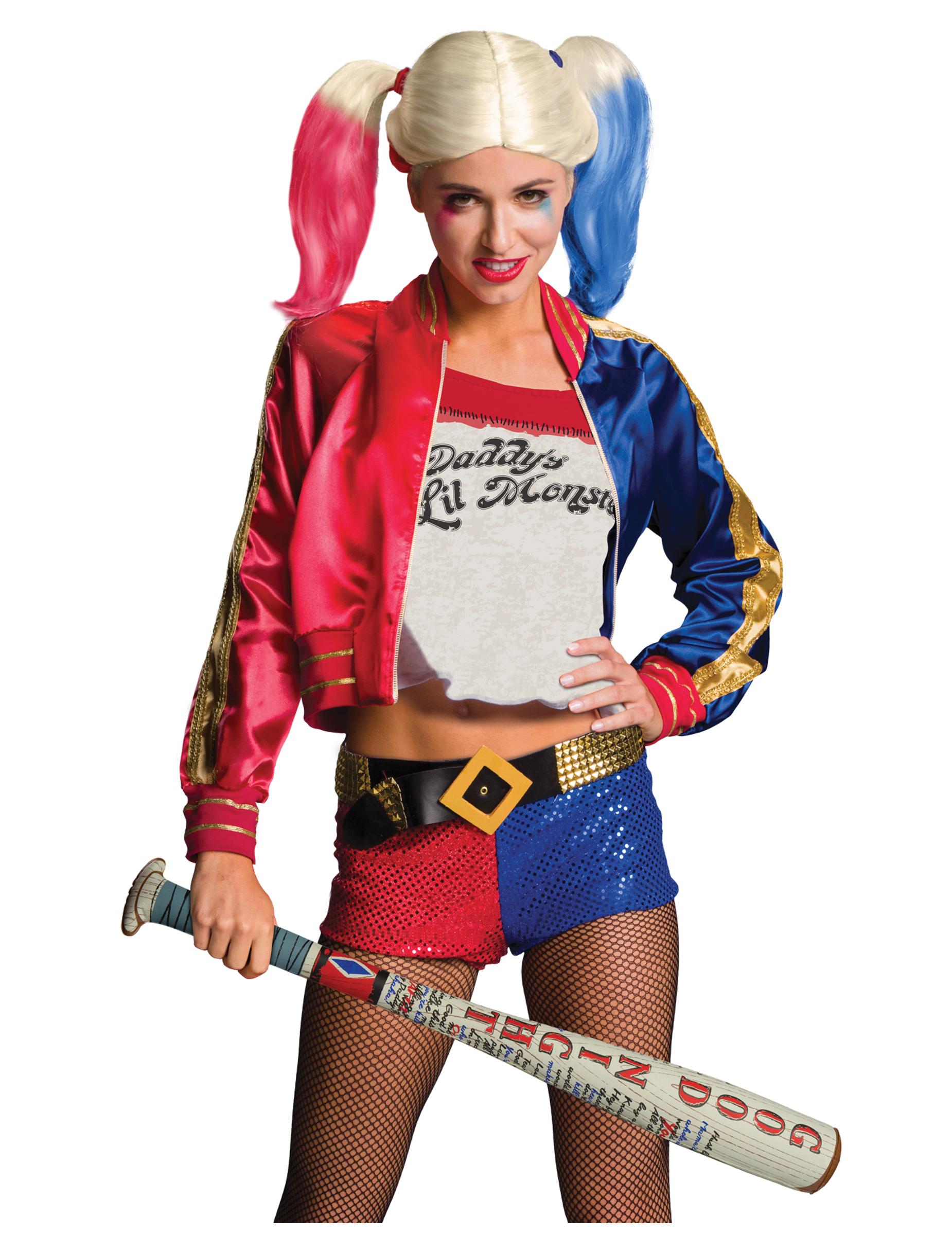 Mazza gonfiabile Harley Quinn - Suicide Squad™  Accessori 55bba79a83b