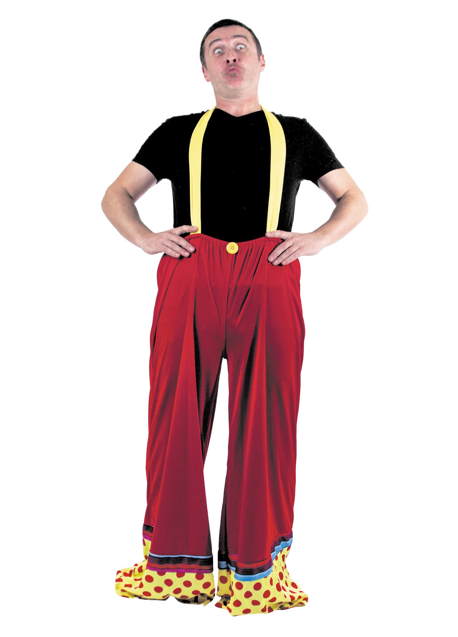 Costumi Di Carnevale Adulti Pantaloni Adulto Clown Vestiti e FqxYE