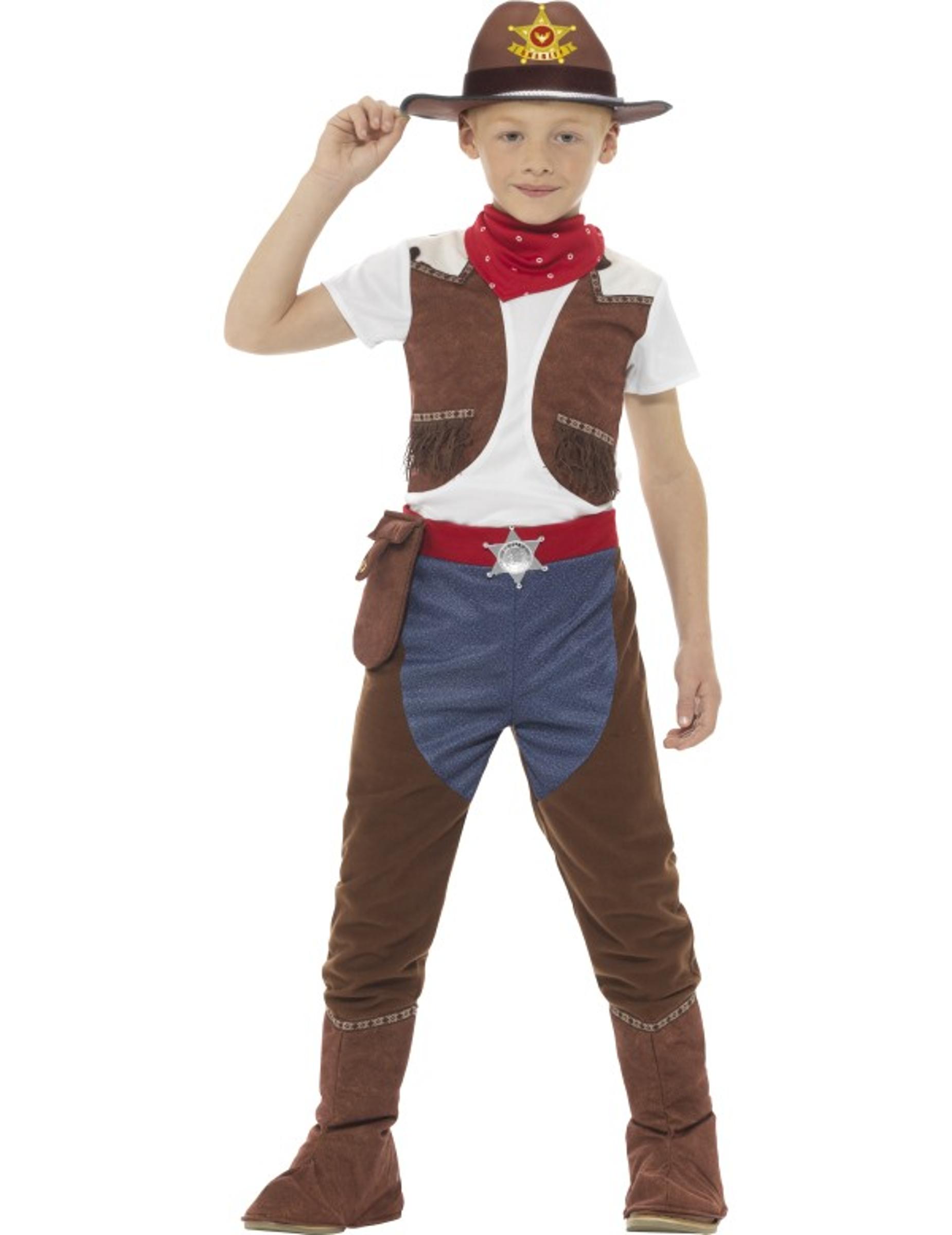 originale a caldo meglio alta moda Costume da cowboy texano per bambino: Costumi bambini,e ...