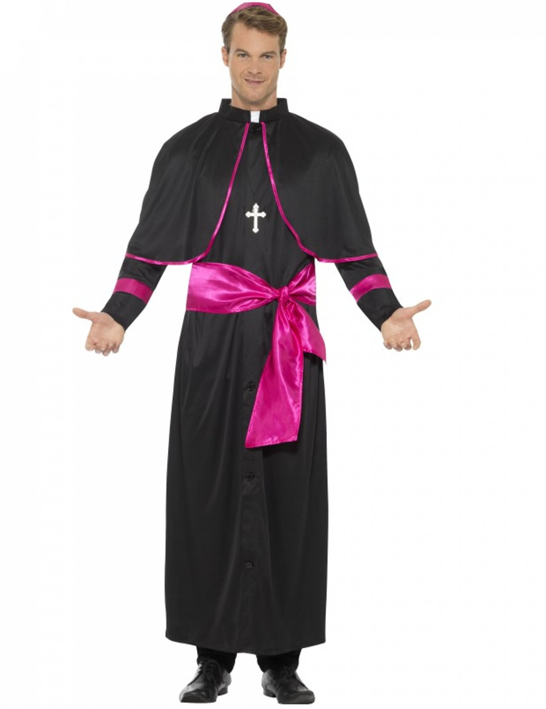 Costume da cardinale per uomo  Costumi adulti 9a94dadb3df
