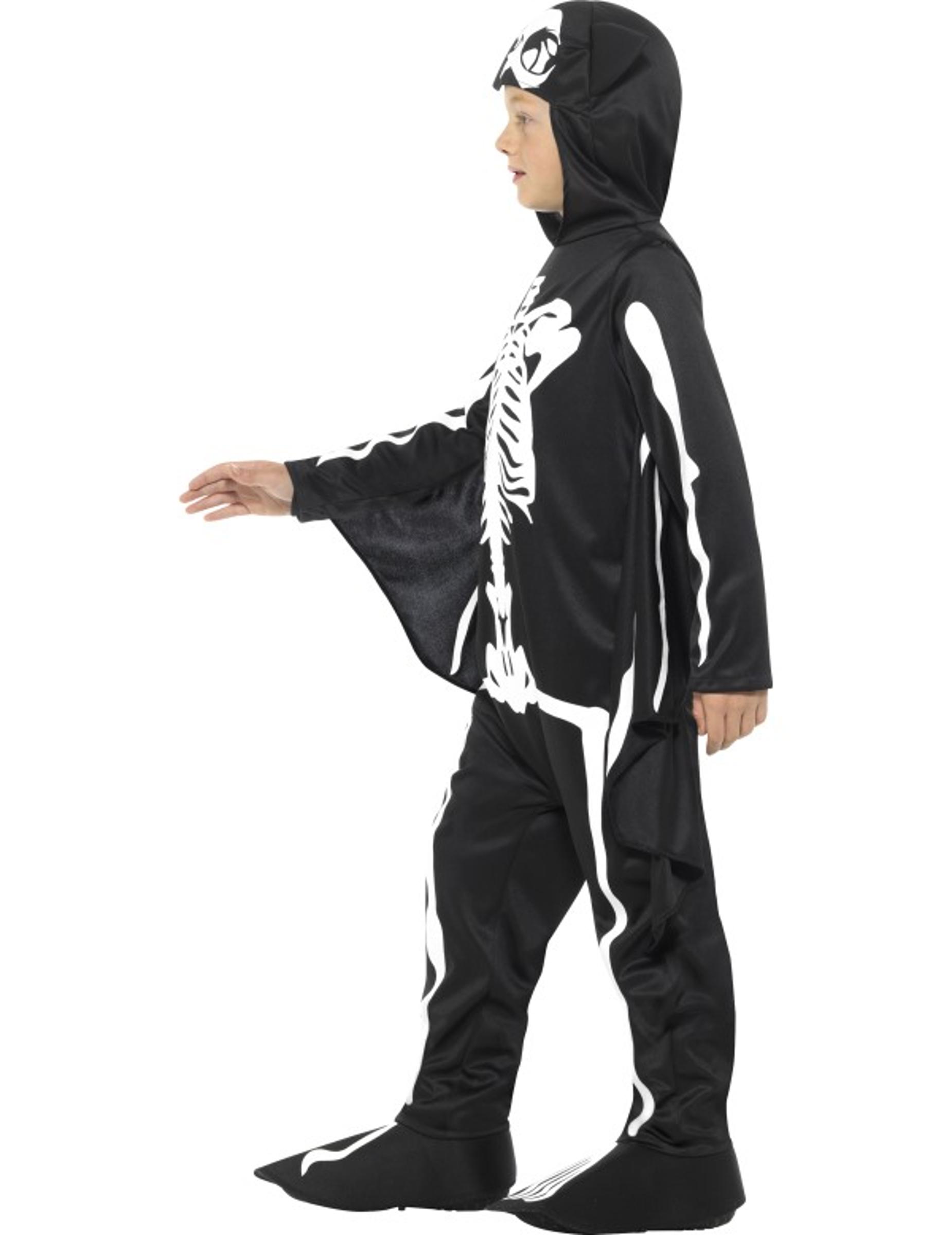 Vestito pipistrello scheletro bambino per Halloween ...