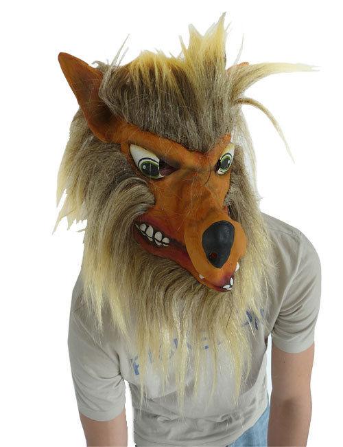 Maschera da lupo adulto maschere e vestiti di carnevale