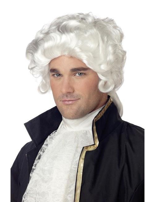 Dio Greco Socrate Bianco Parrucca Barba Sopracciglia-Da Uomo Costume