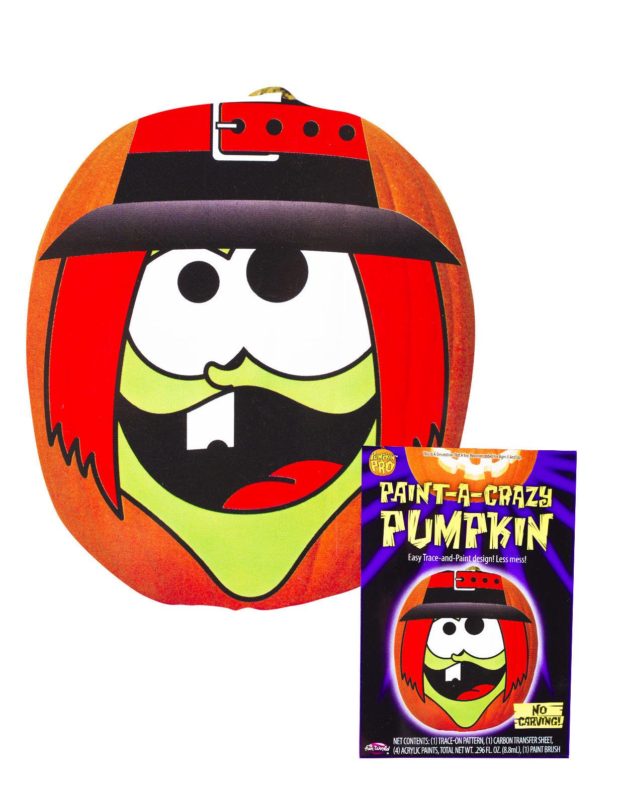 Kit Per Decorazione Zucca Di Halloween Addobbi E Vestiti