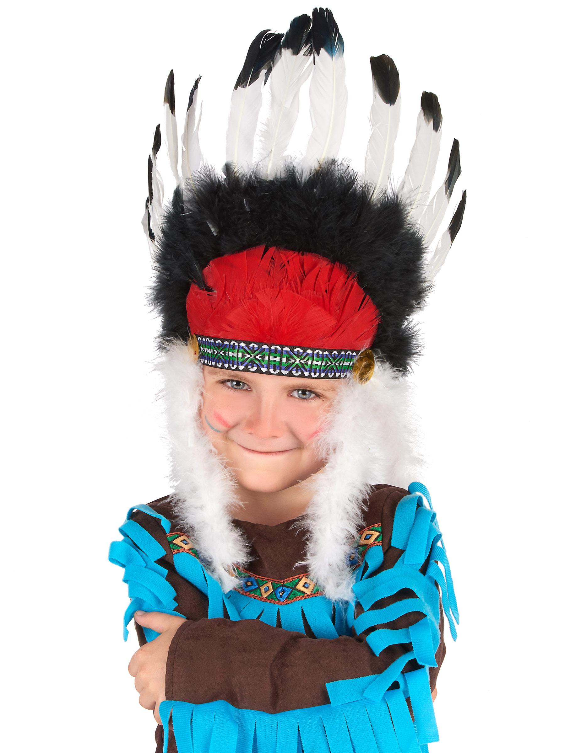 Copricapo da Capo indiano per bambino  Cappelli 9f885a0e6005
