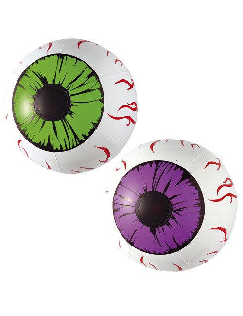 occhi gonfiabili halloween addobbi e vestiti di carnevale