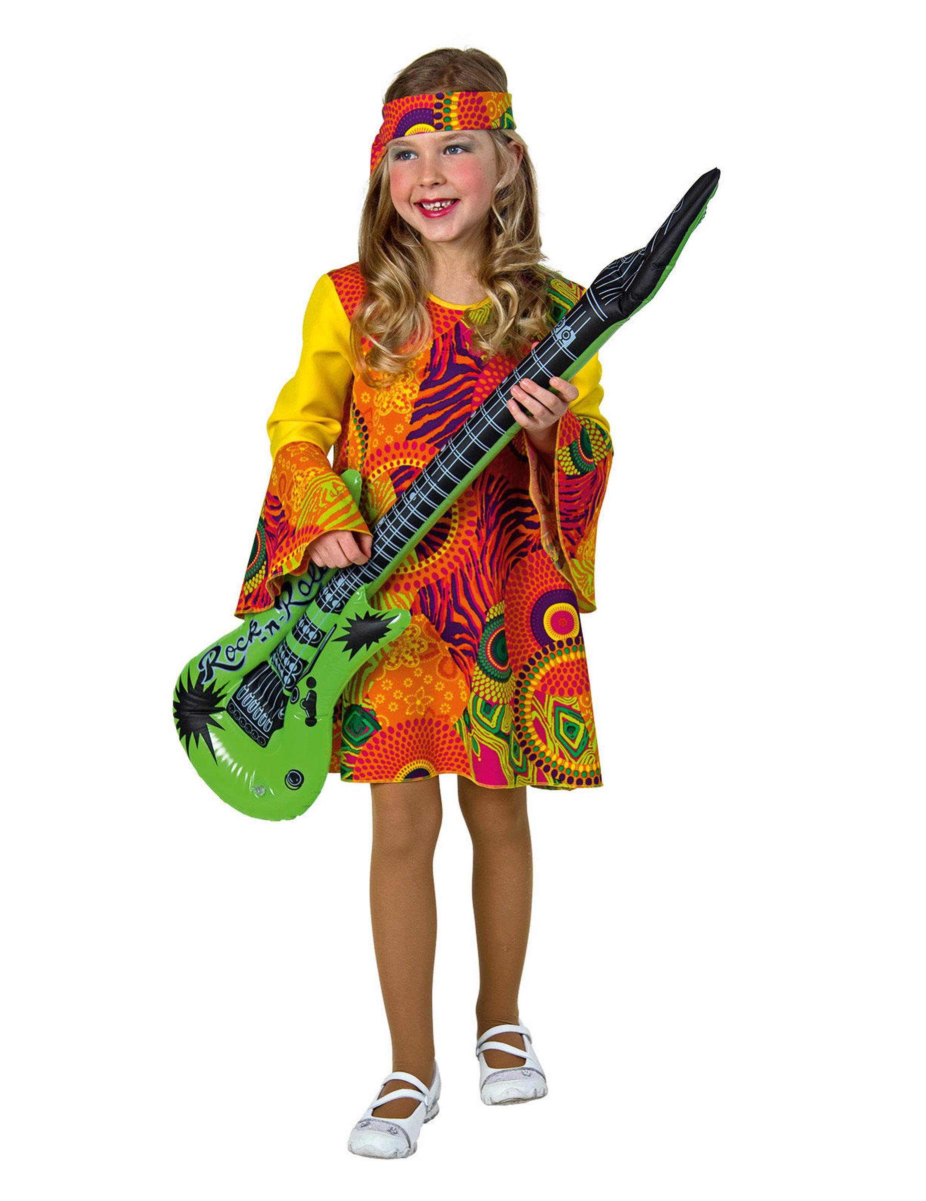 Costume Hippy per bambina Costumi bambinie vestiti di carnevale online - Vegaoo