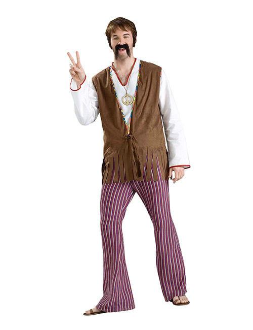 Pantaloni da Hippie per uomo  Costumi adulti 5d3650338a7