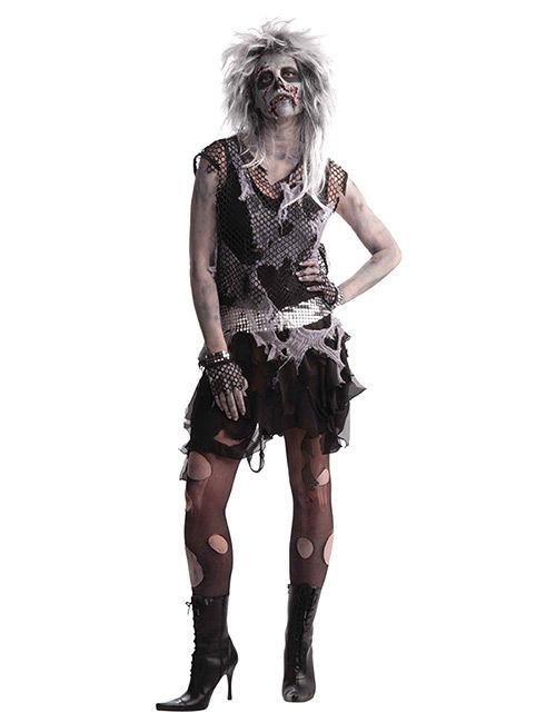 on sale 3f0bc 8e4c1 Costume zombie punk anni 80 per donna halloween: Costumi ...