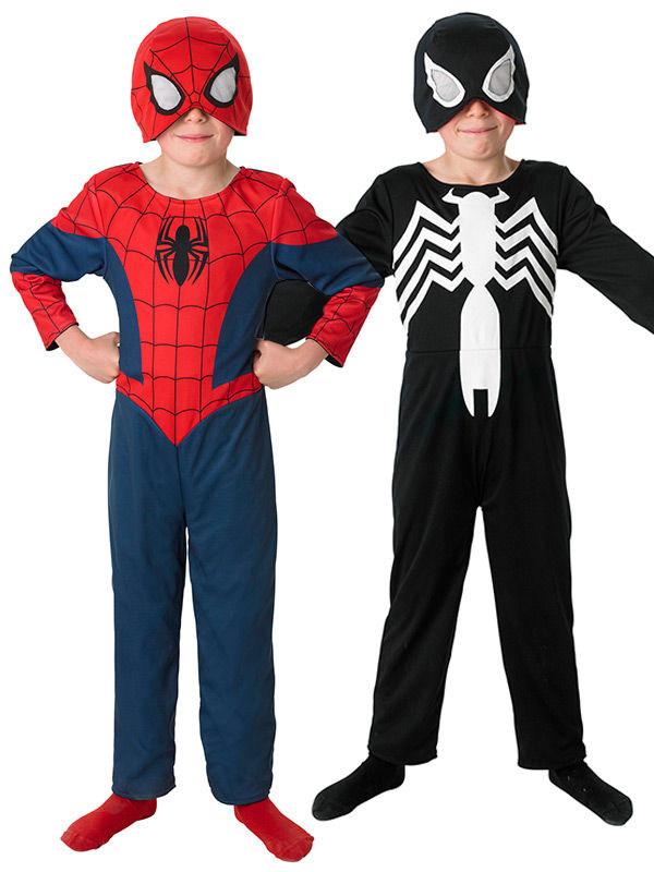 Reversibile Bambini e Costume Per Costumi Spidermanvenom™ Bambino dOnW71R