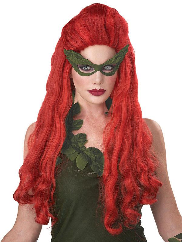 Parrucca donna capelli rossi lunghi: Parrucche,e vestiti ...