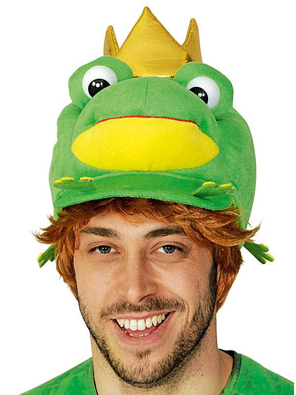 Cappello principe ranocchio per adulto: cappelli e vestiti di