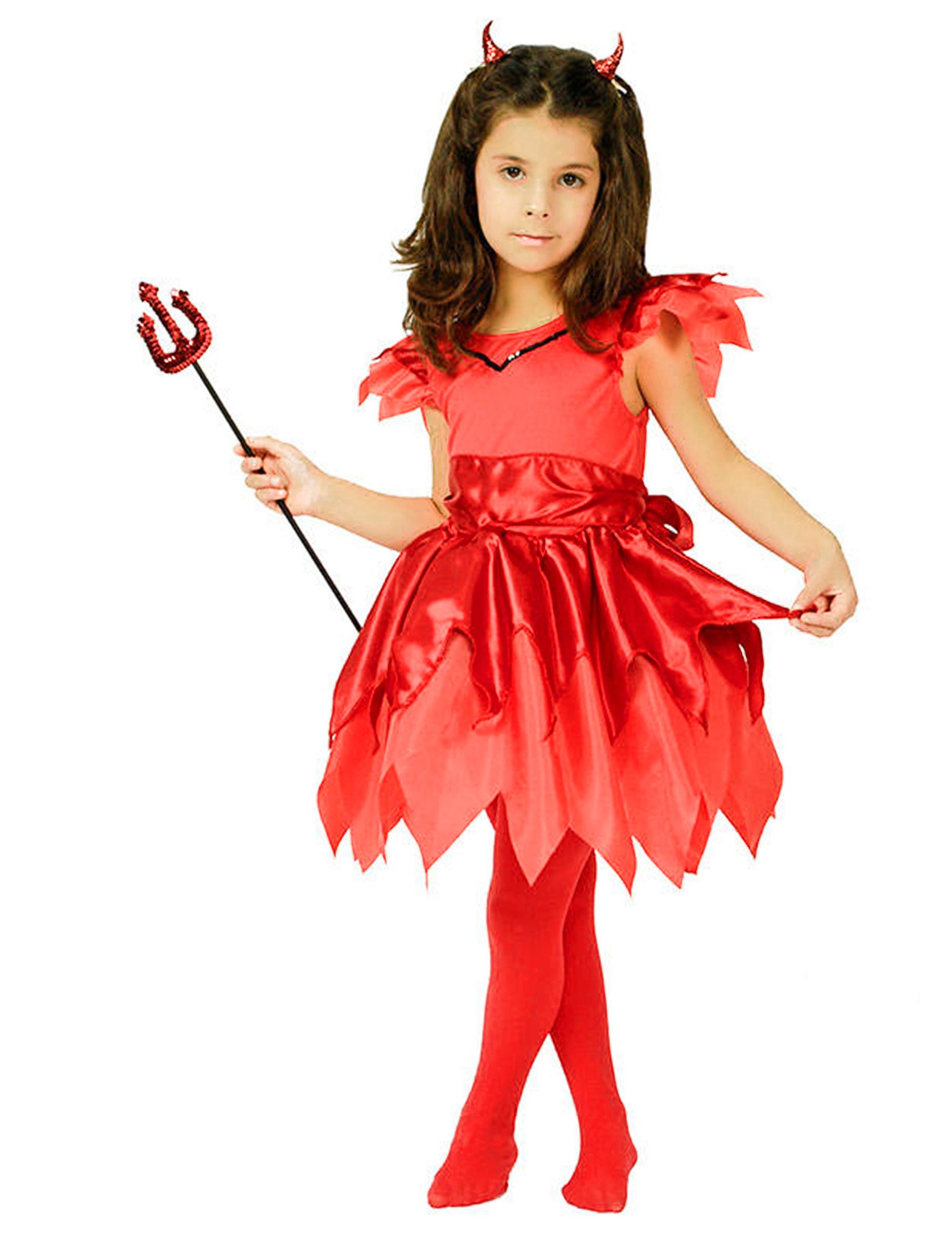Costume da diavoletta per bambina  Costumi bambini e19d8ced1901