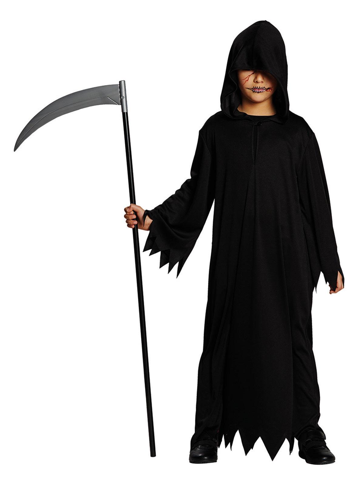costume da morte per halloween bambino costumi bambini e. Black Bedroom Furniture Sets. Home Design Ideas