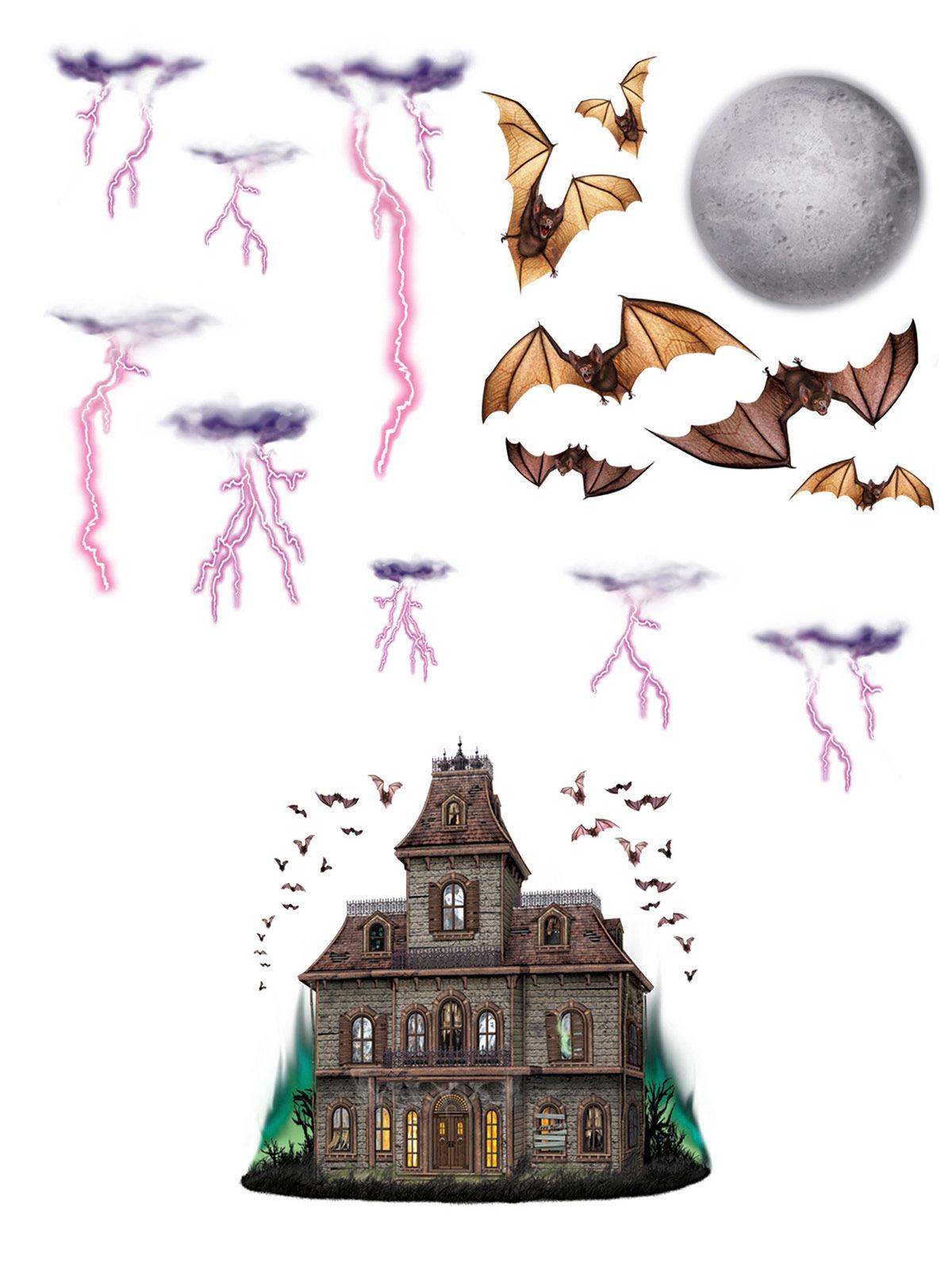 12 decorazioni da muro casa stregata addobbi e vestiti di