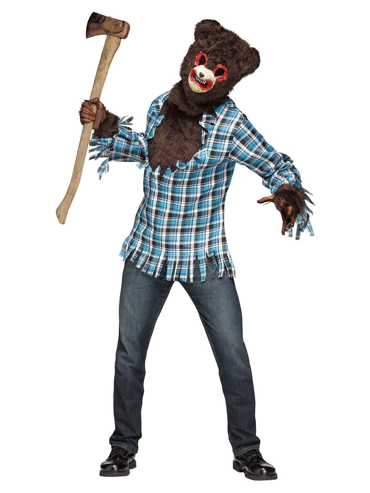 Costume da Orsetto assassino per adulto halloween: Costumi ...
