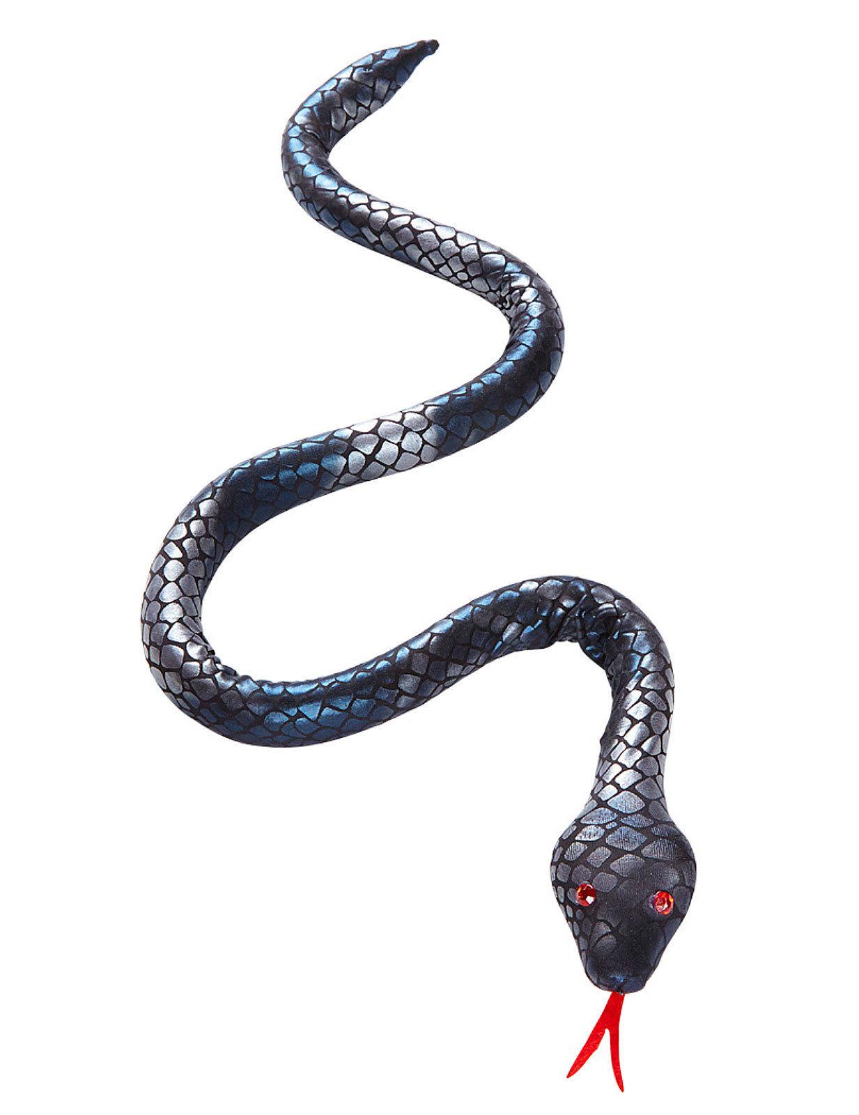 Decorazione Di Halloween Serpente Flessibile 100 Cm