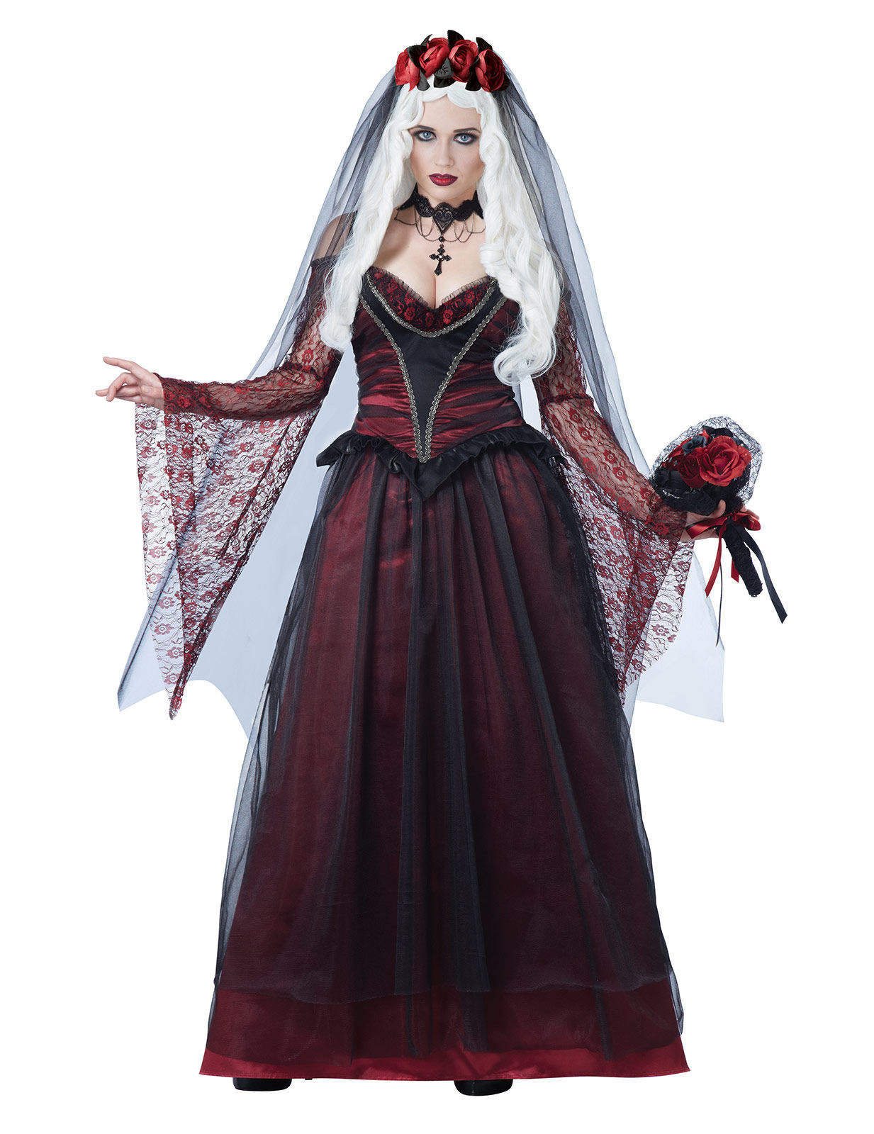Preferenza Travestimenti e accessori Sposa cadavere per Halloween e feste a  GD62