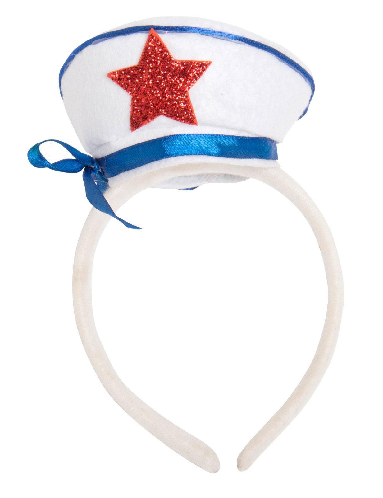 Cerchietto con cappello da capitano  Cappelli 1fe5da42189b