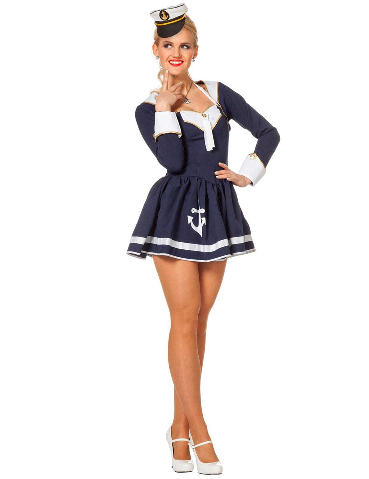 Costume da marinaia sexy donna  Costumi adulti 7fa821c149b1