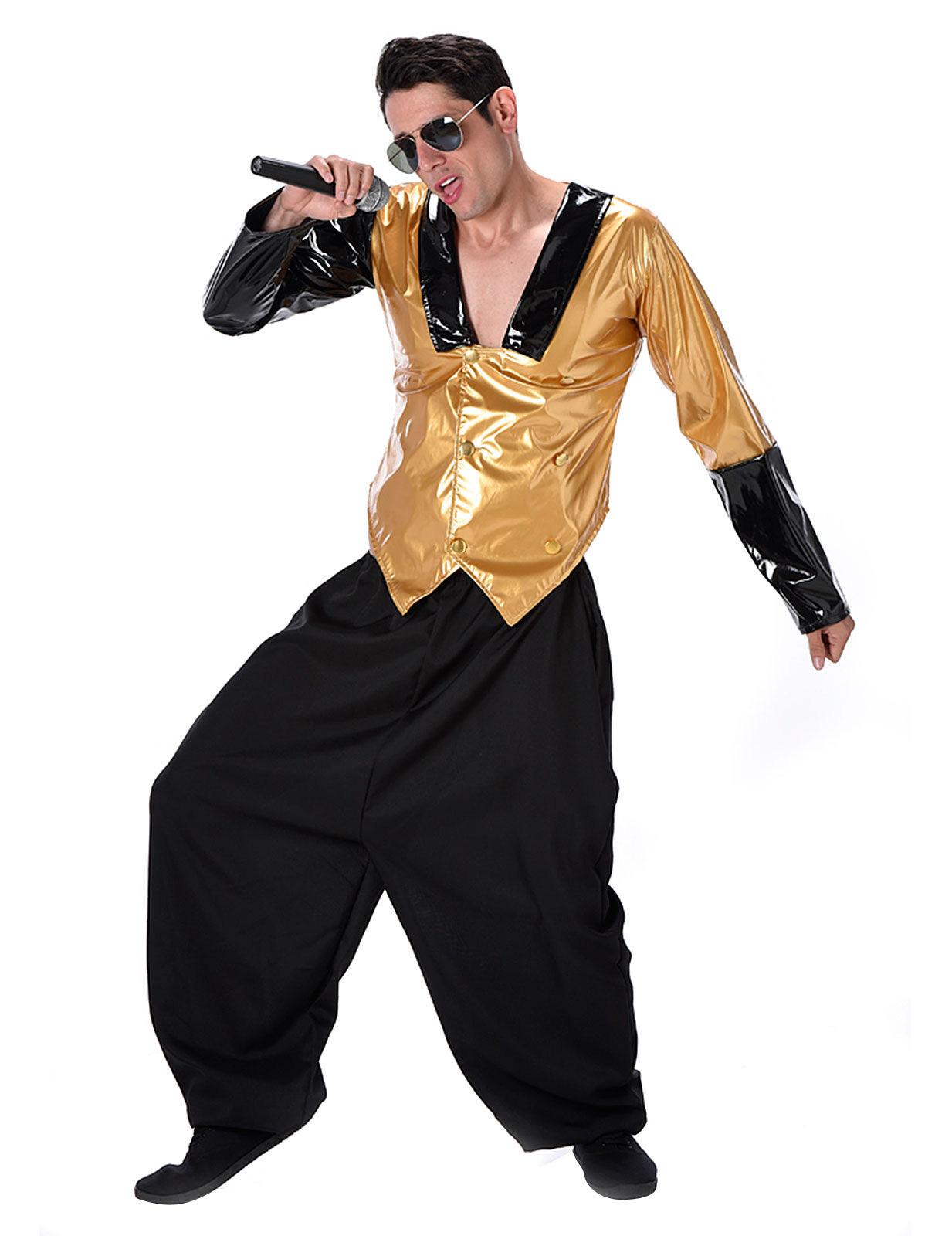 Costume Da Rapper Degli Anni 80 Per Uomo Costumi Adulti E