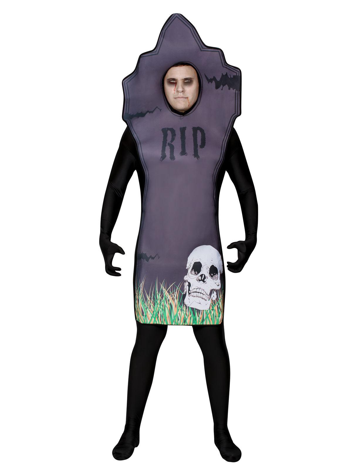 Costume da lapide per adulto Halloween  Costumi adulti 6310e1b5946e