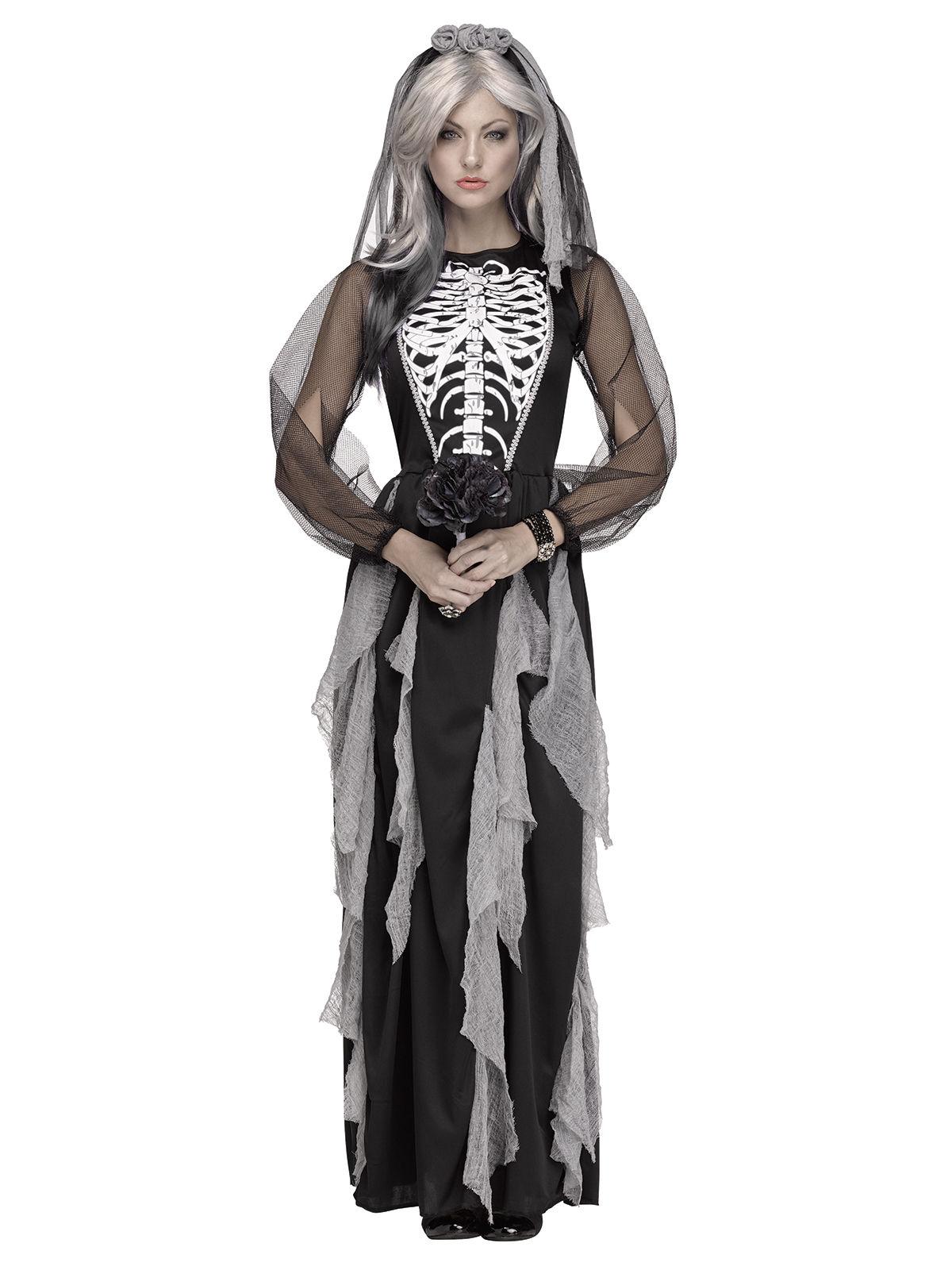 cd2cac415e61 Costume da sposa cadavere per donna Halloween  Costumi adulti