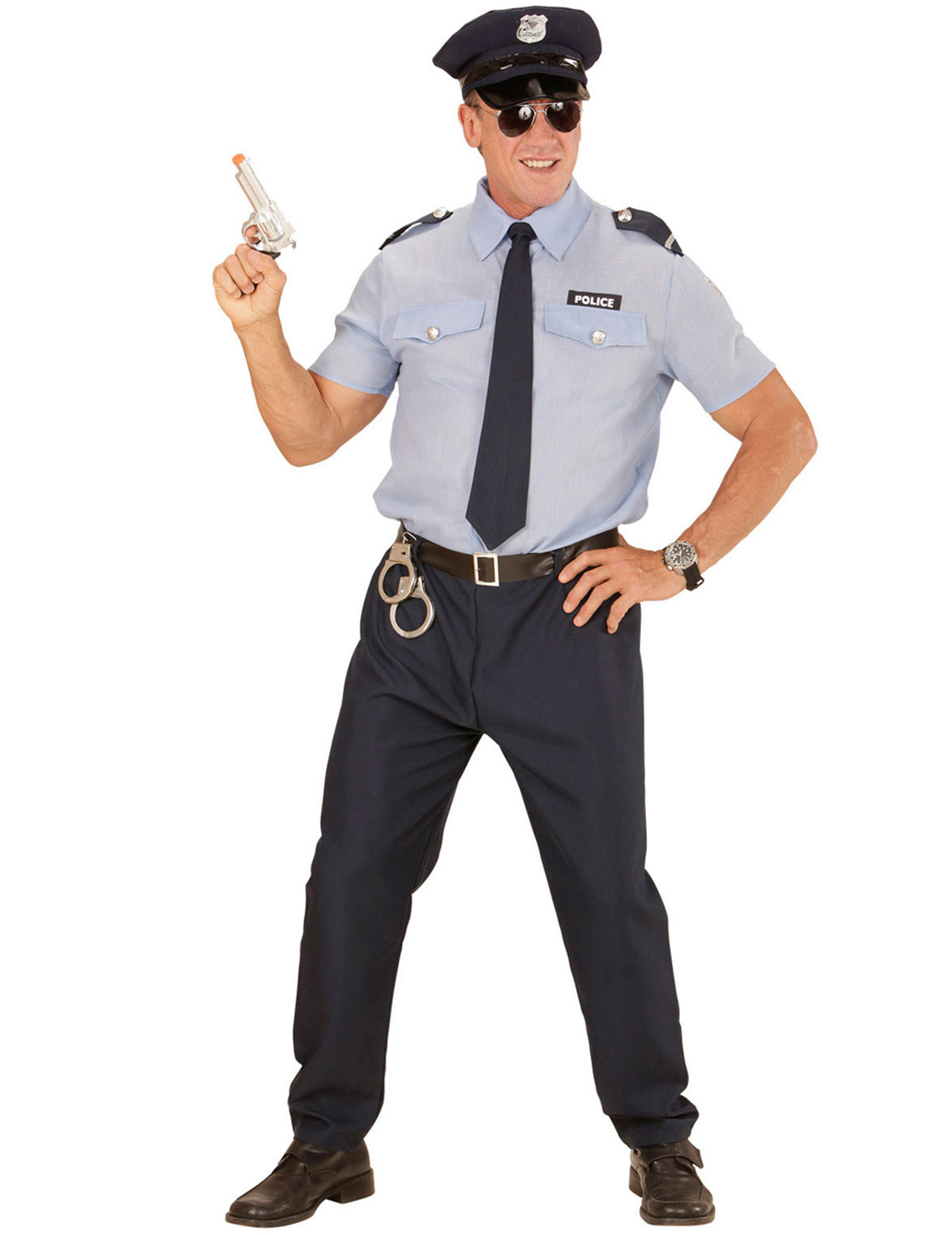 fb35589726 Costume da poliziotto uomo: Costumi adulti,e vestiti di carnevale ...
