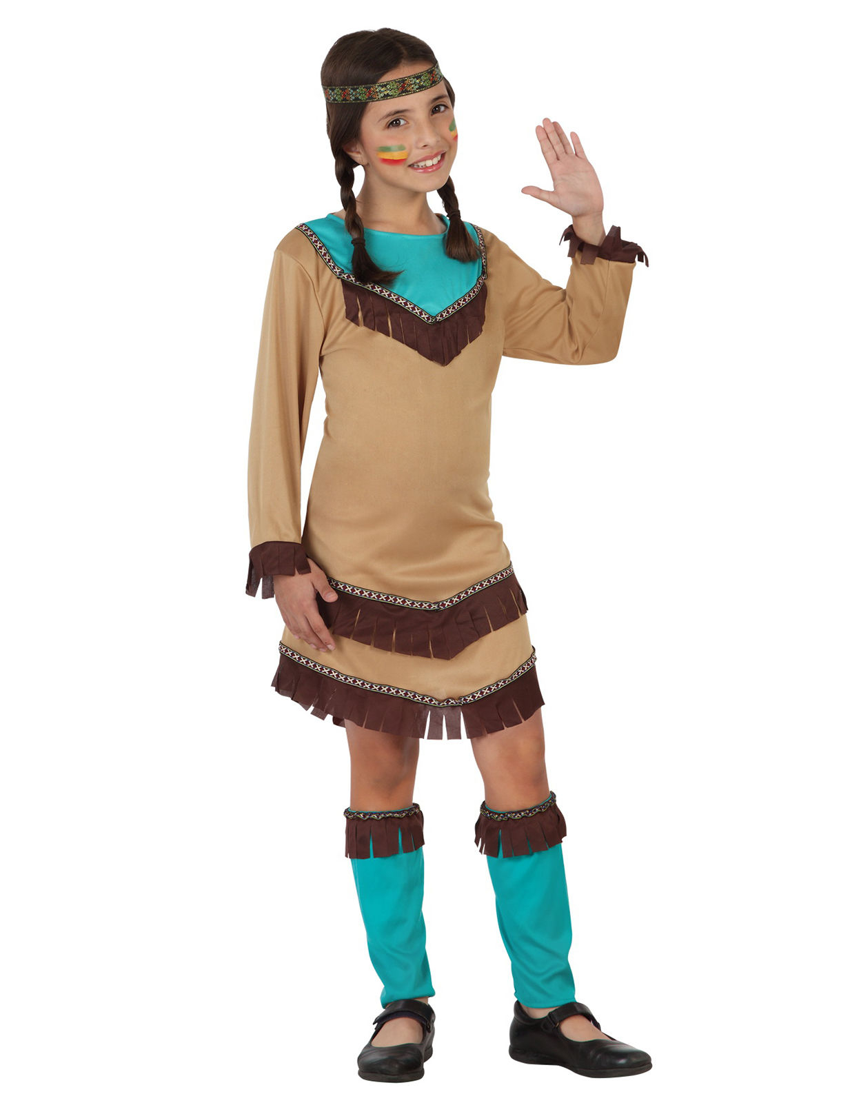indiana carnevale bambina  Costume da indiana Squaw per bambina: Costumi bambini,e vestiti di ...