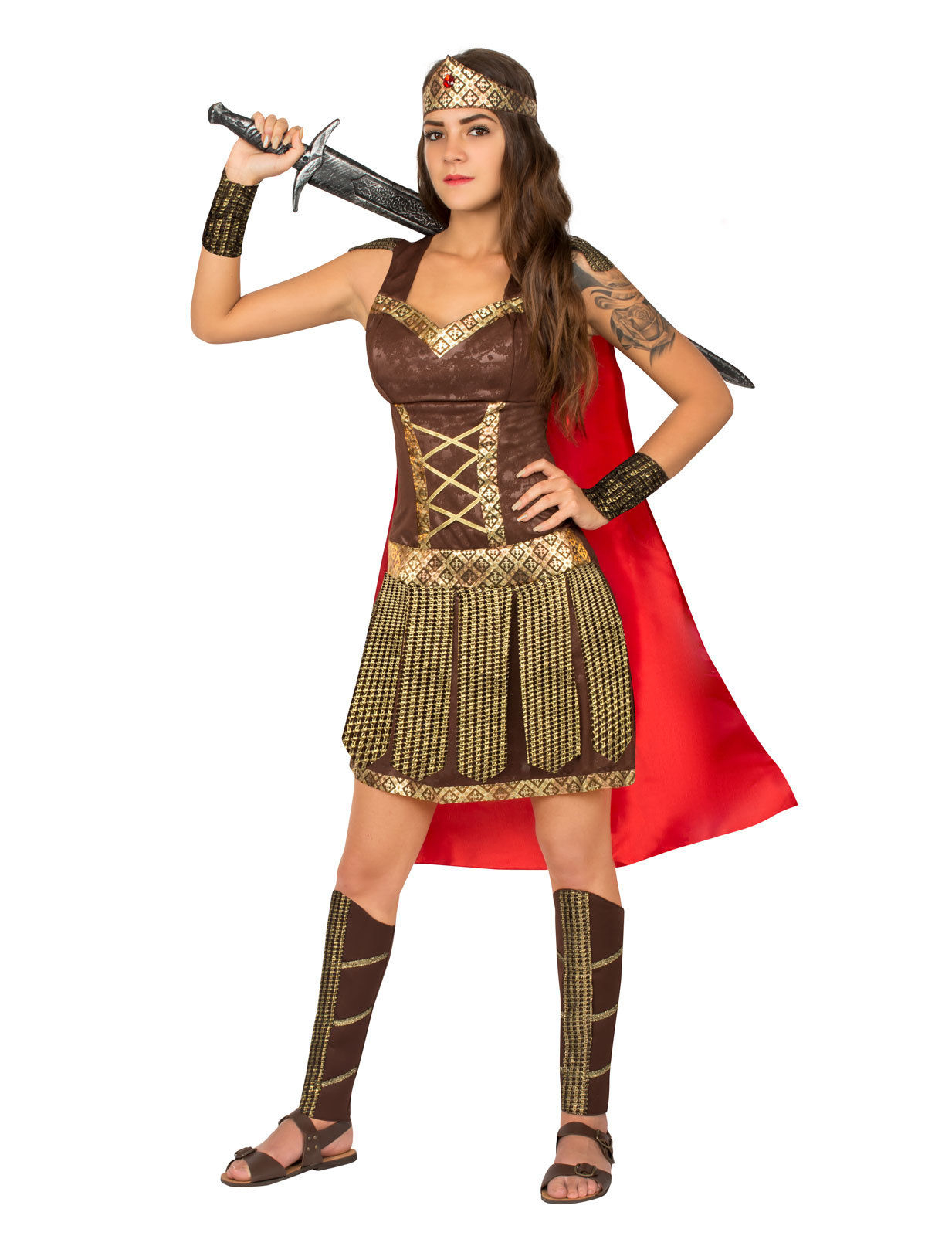 Costumi e travestimenti Adulti Costume da gladiatore per donna Medium