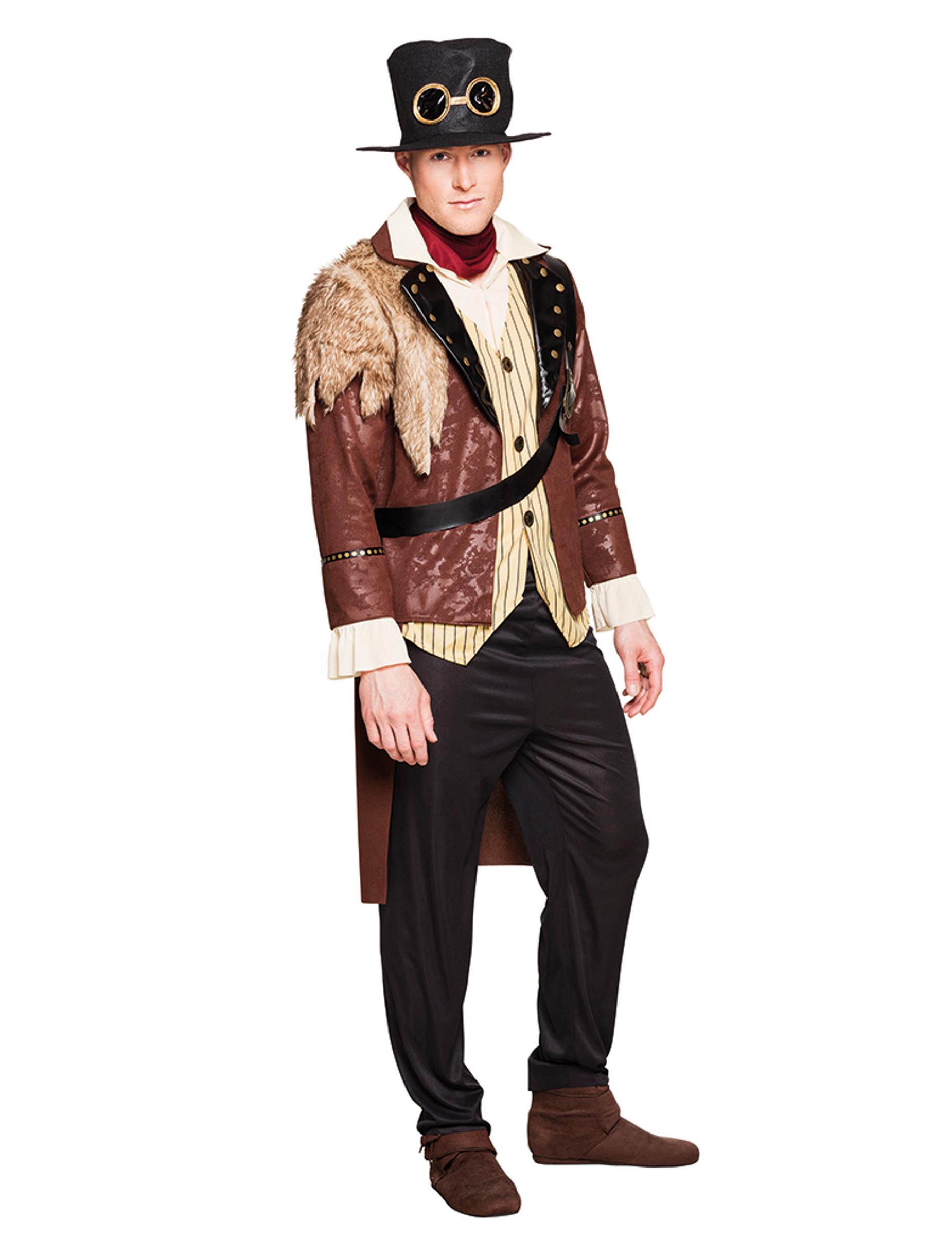 Costume da capitano Steampunk per uomo  Costumi adulti c95862cffc9c