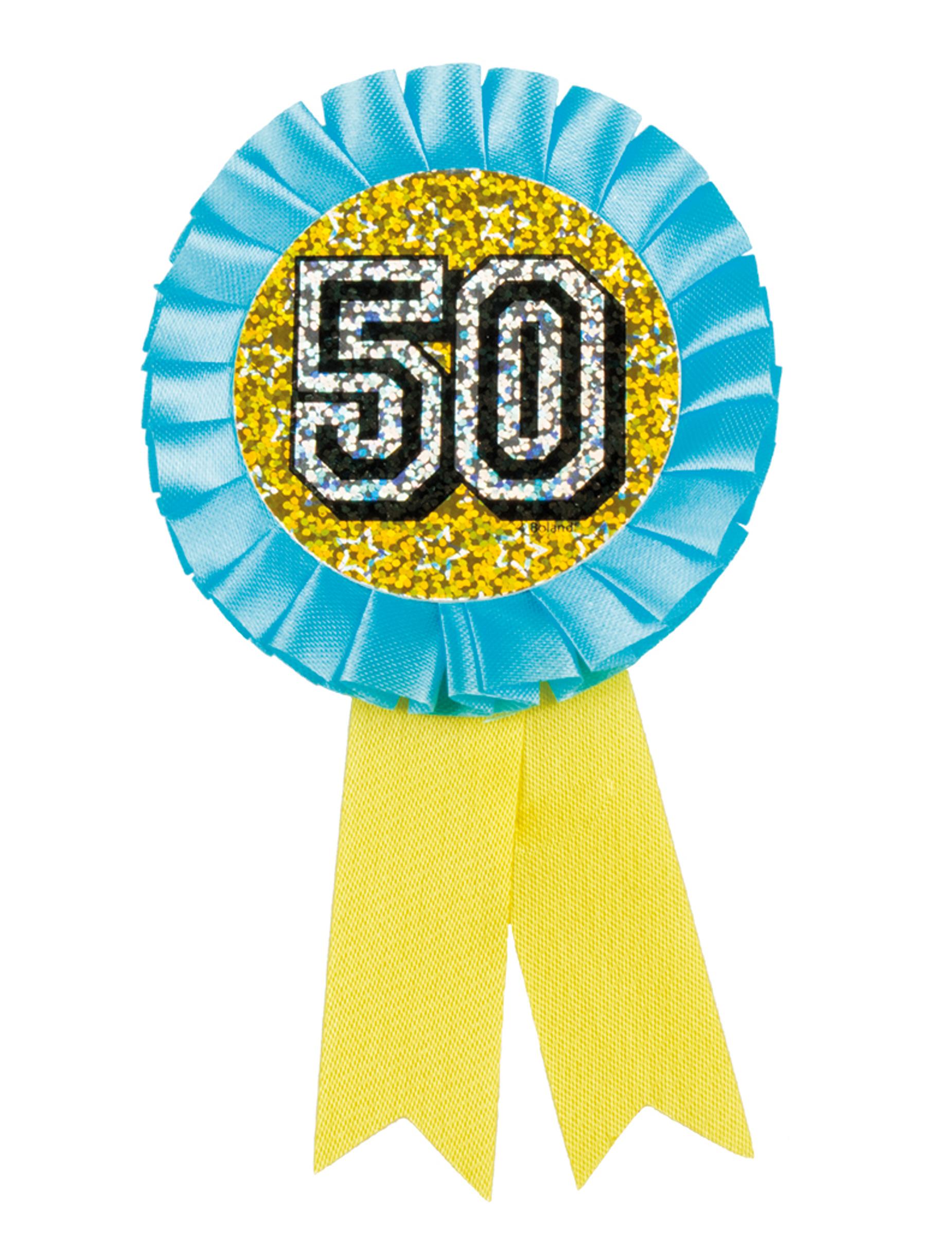 Famoso Coccarda per compleanno 50 anni: Accessori,e vestiti di carnevale  BH33
